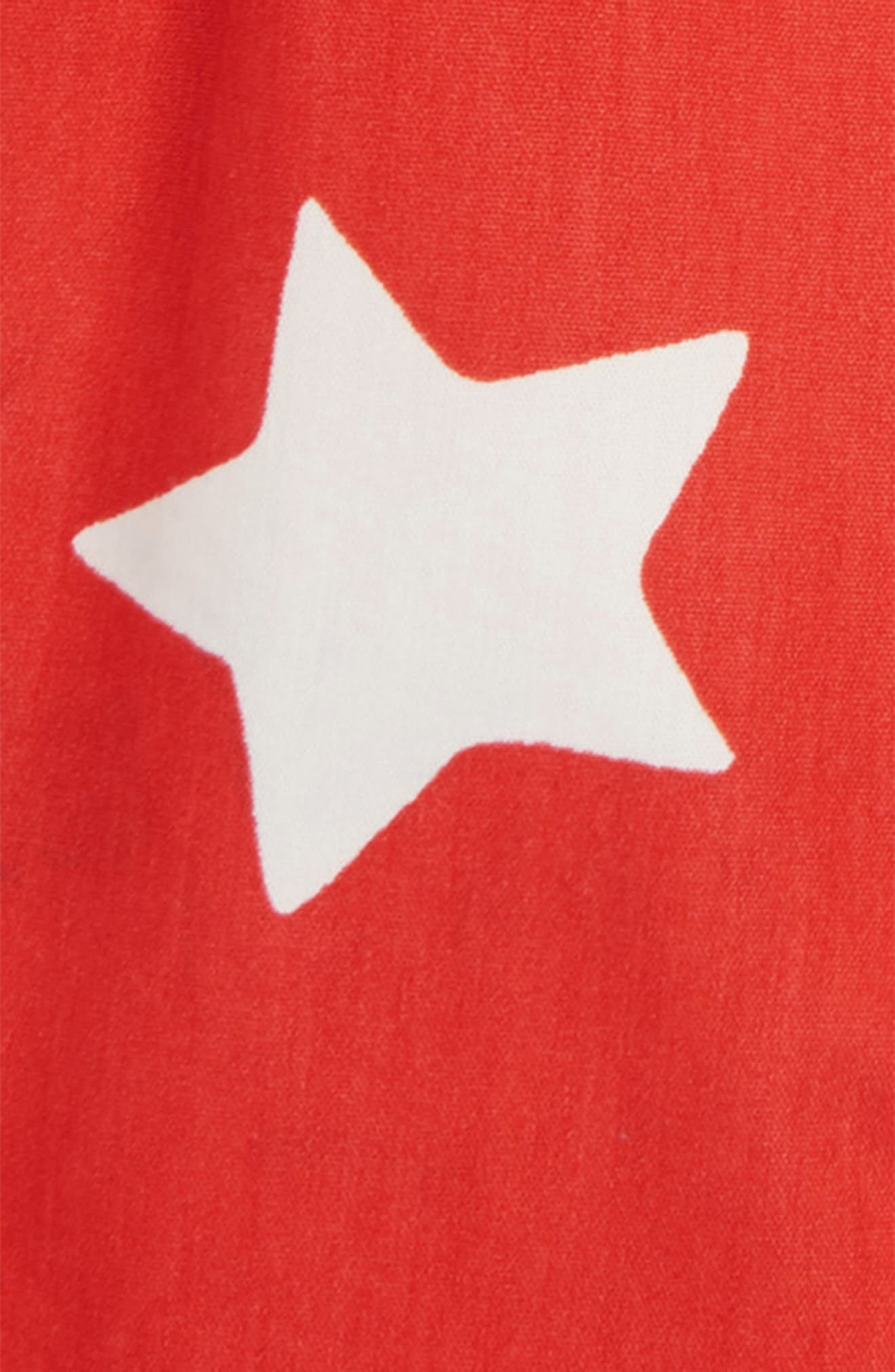 Star Adventure Shorts,                             Alternate thumbnail 2, color,                             BEAM RED/ ECRU STAR