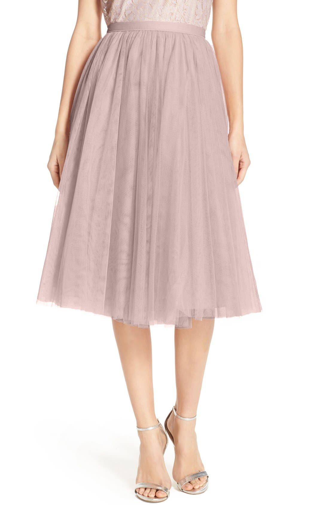 Lucy Tulle Skirt,                             Main thumbnail 2, color,