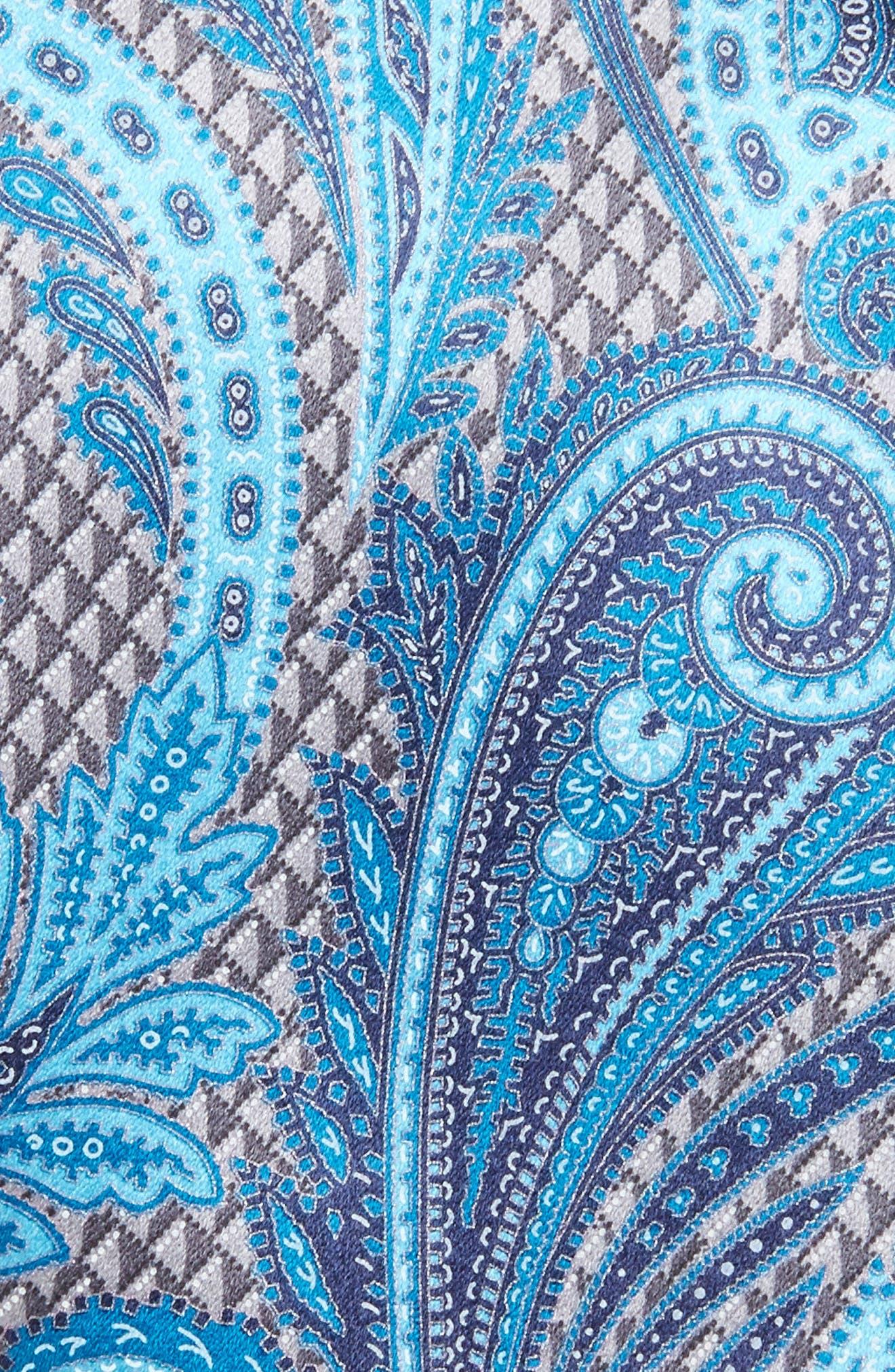 Paisley Silk Tie,                             Alternate thumbnail 2, color,                             038