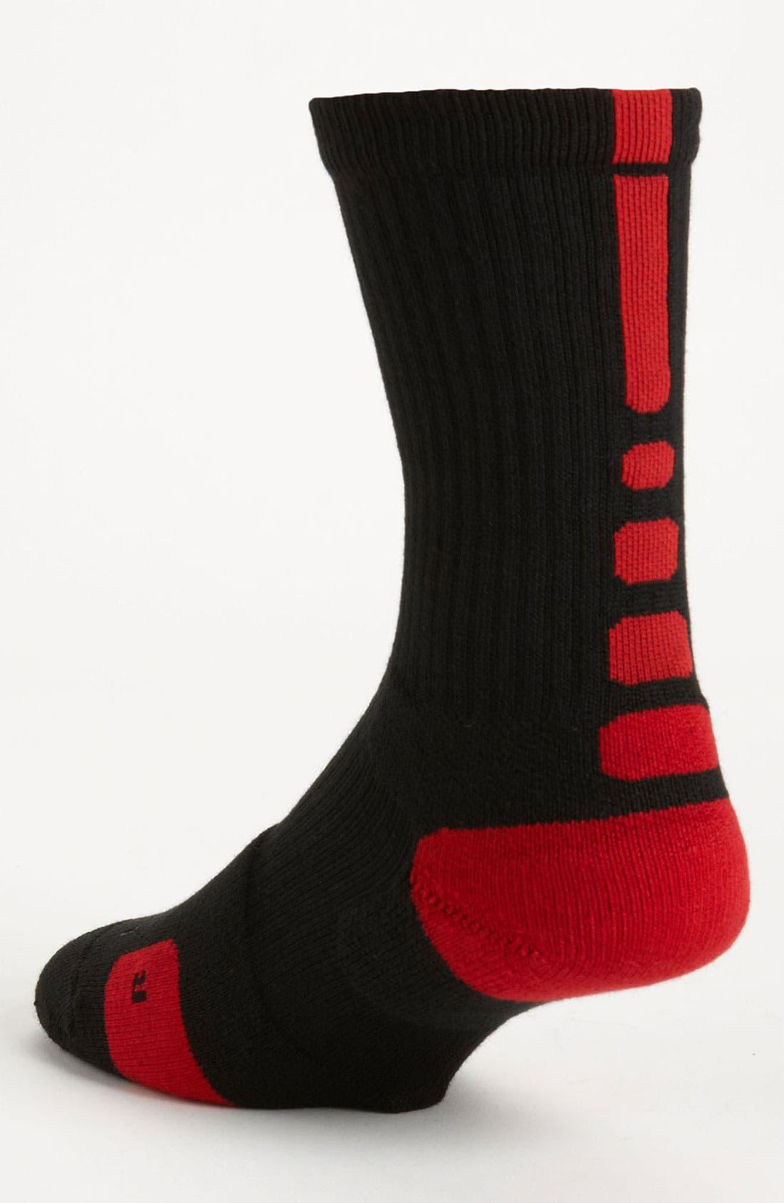 'Elite Basketball' Crew Socks,                             Alternate thumbnail 33, color,