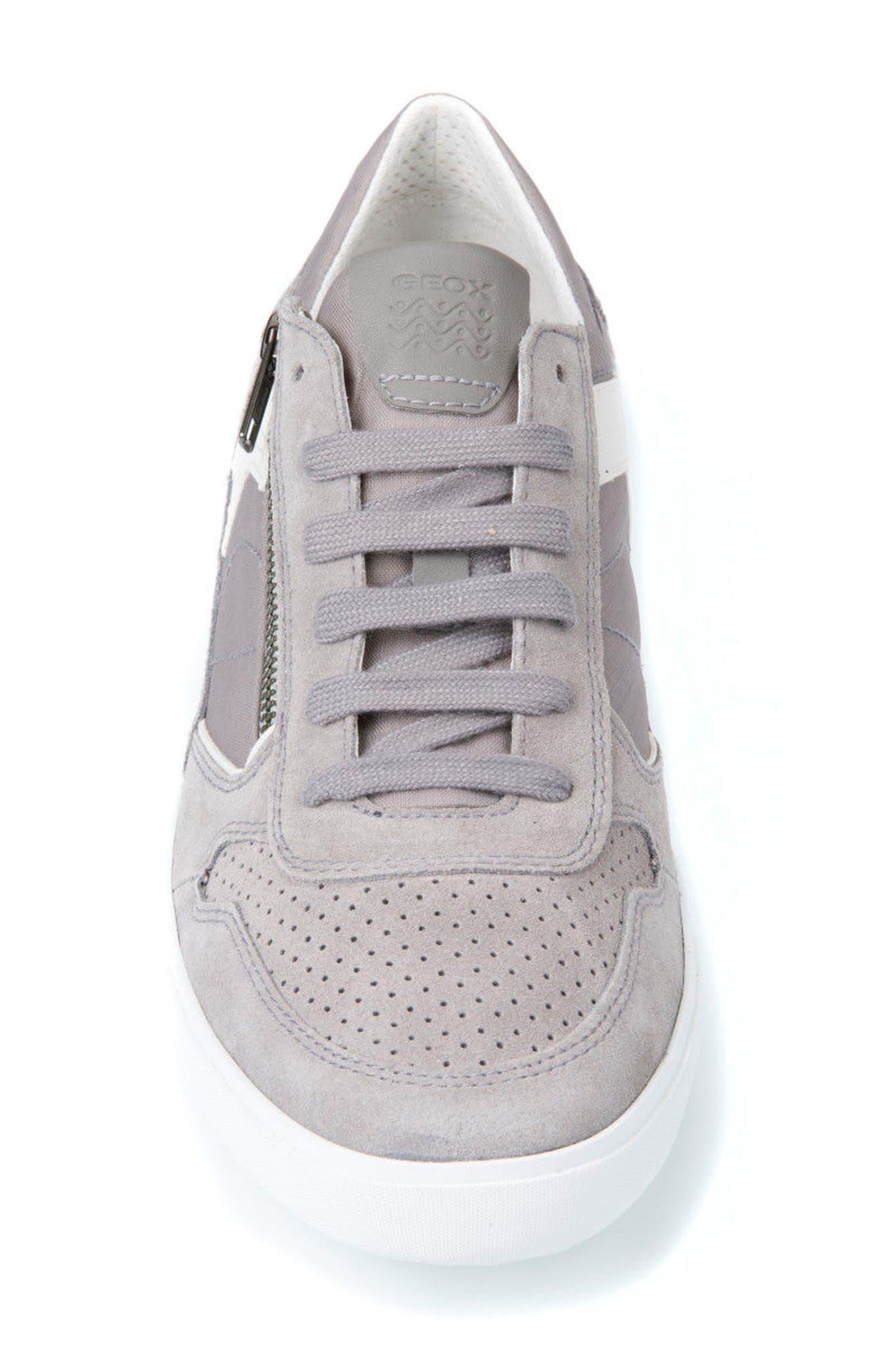 Box 33 Low Top Zip Sneaker,                             Alternate thumbnail 4, color,                             030