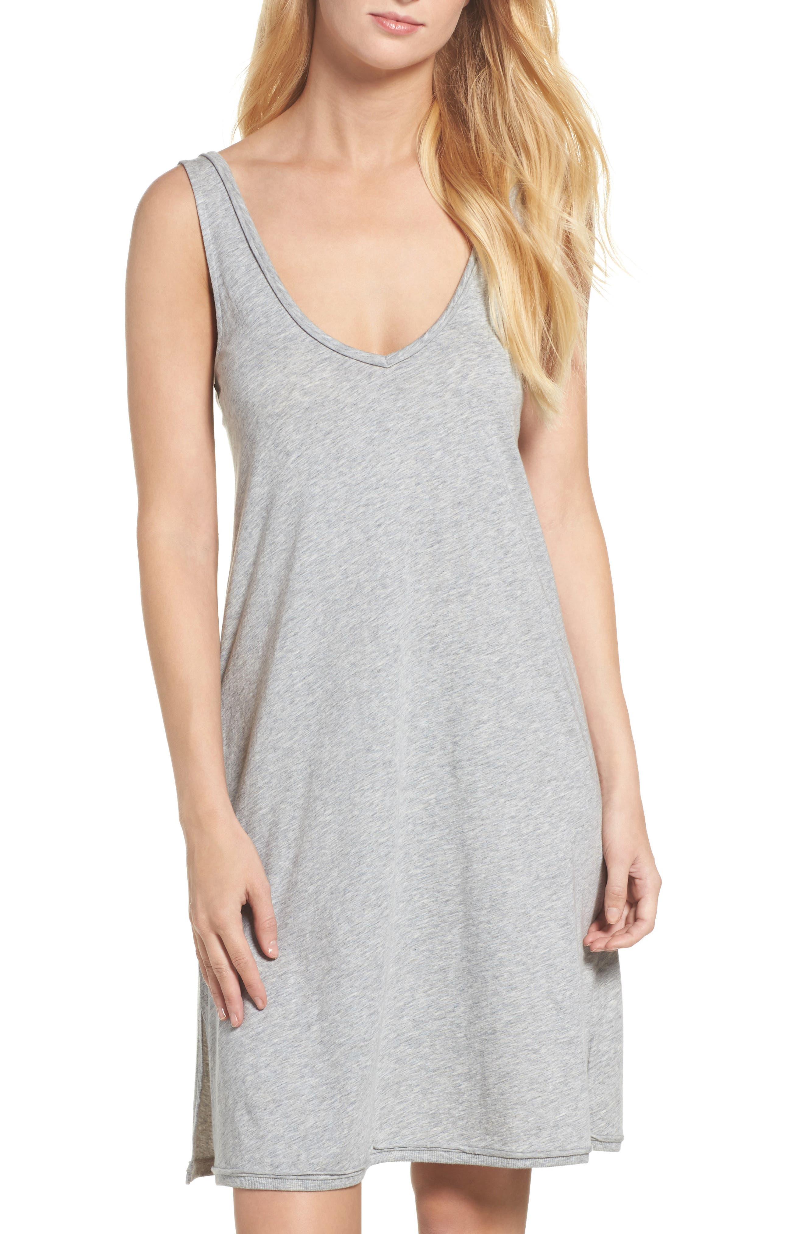 Cotton Chemise,                             Main thumbnail 1, color,                             020