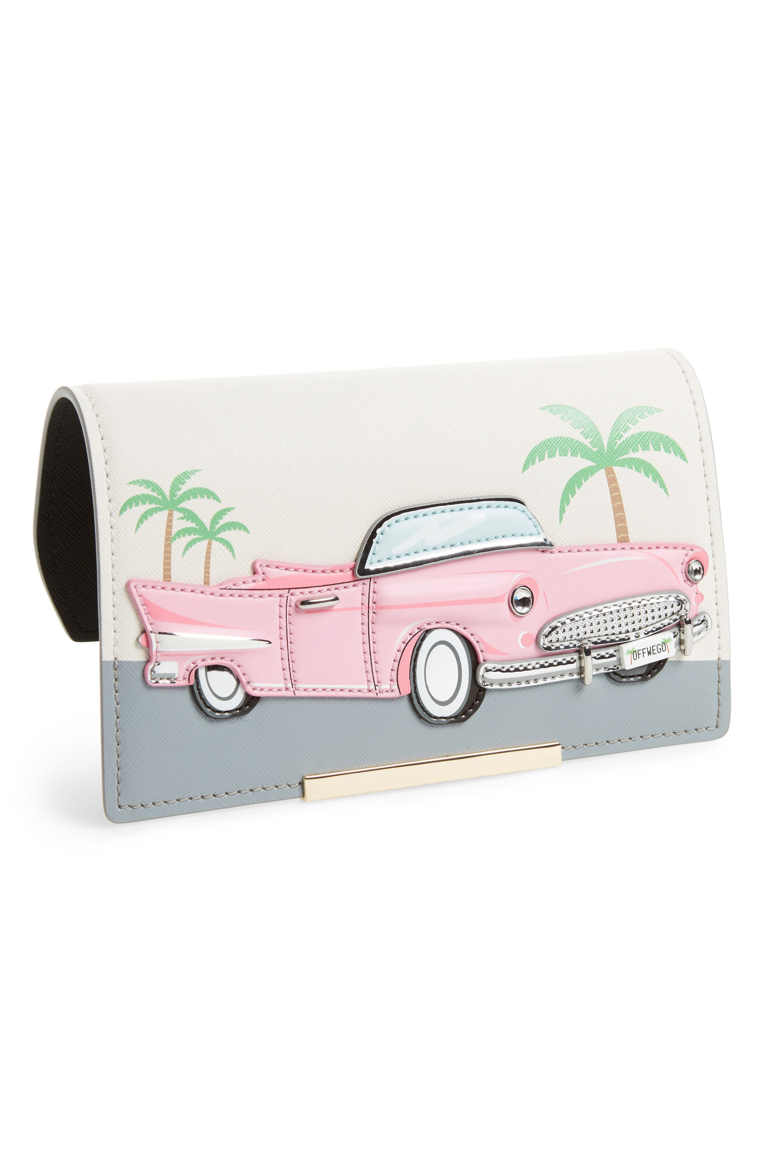 make it mine leather vintage car snap-on accent flap,                         Main,                         color, 650