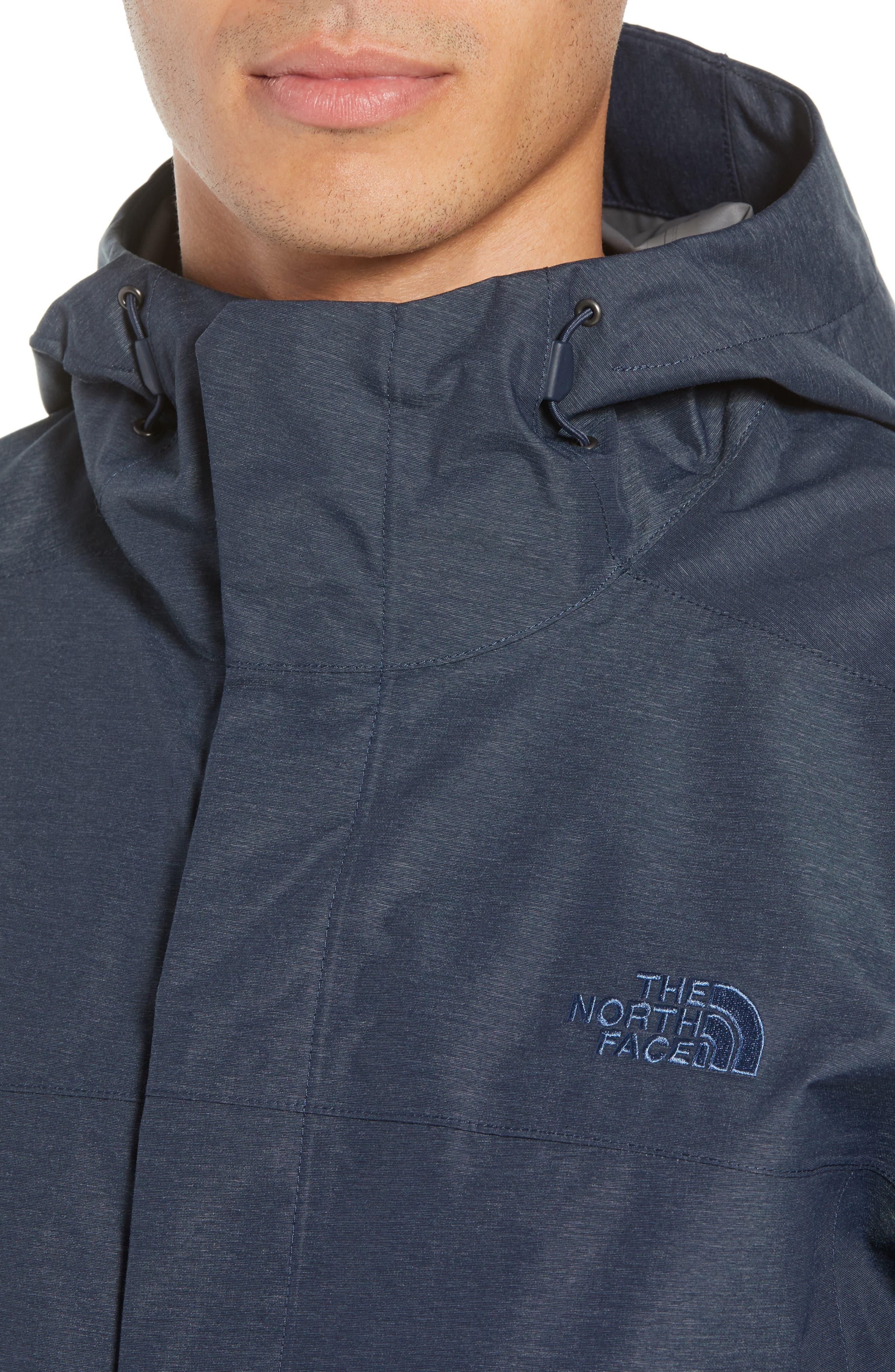 Venture 2 Waterproof Jacket,                             Alternate thumbnail 4, color,                             URBAN NAVY HEATHER