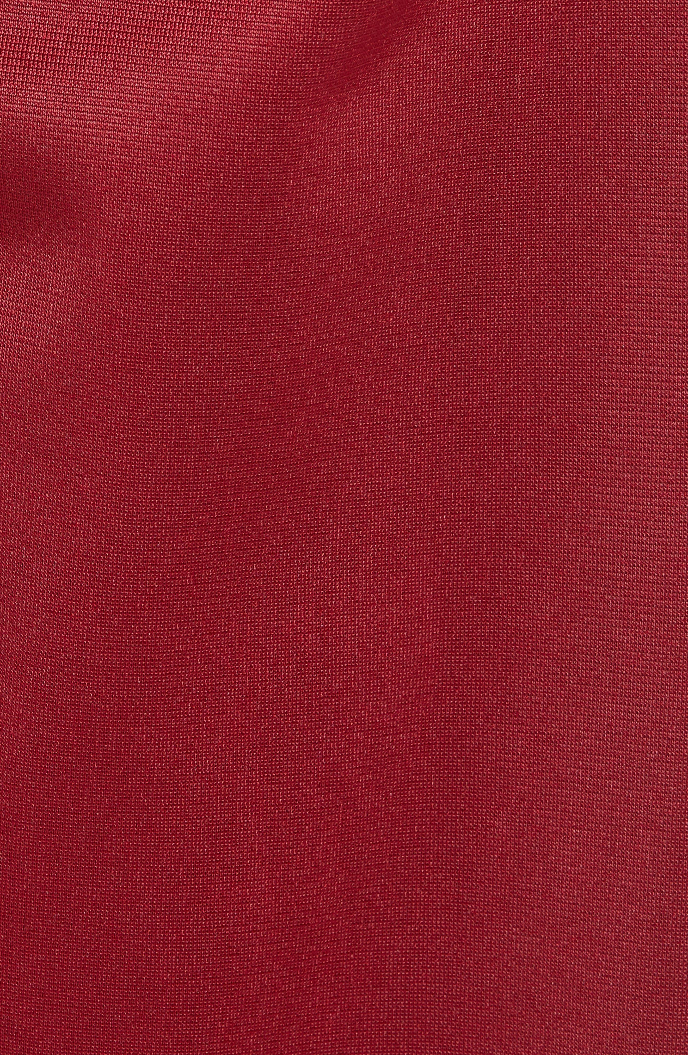 Active 222 Banda Snap-Away Warm-Up Pants,                             Alternate thumbnail 5, color,                             RED BORDEAUX BLACK