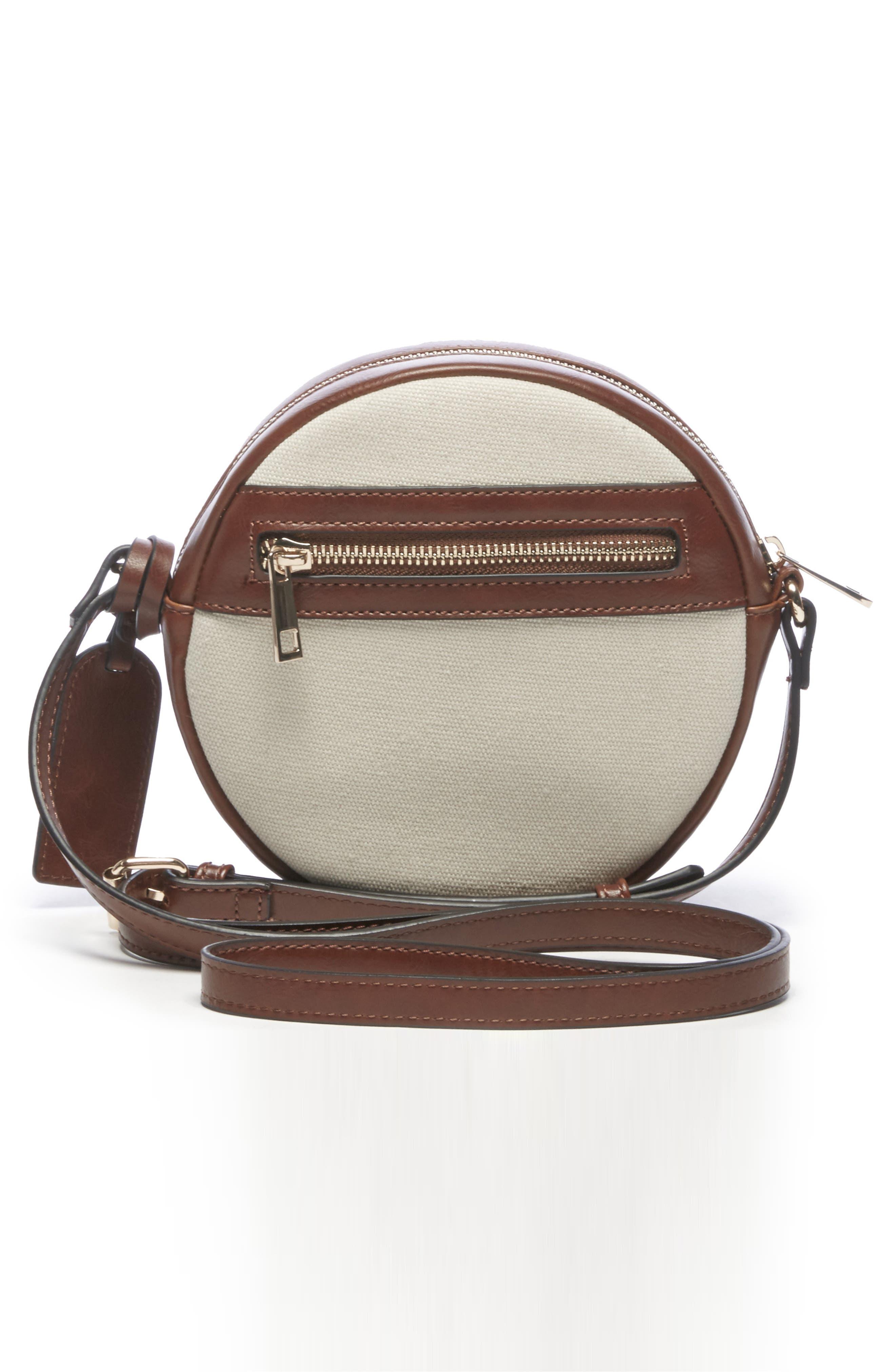 Aira Studded Crossbody Bag,                             Alternate thumbnail 2, color,                             NATURAL