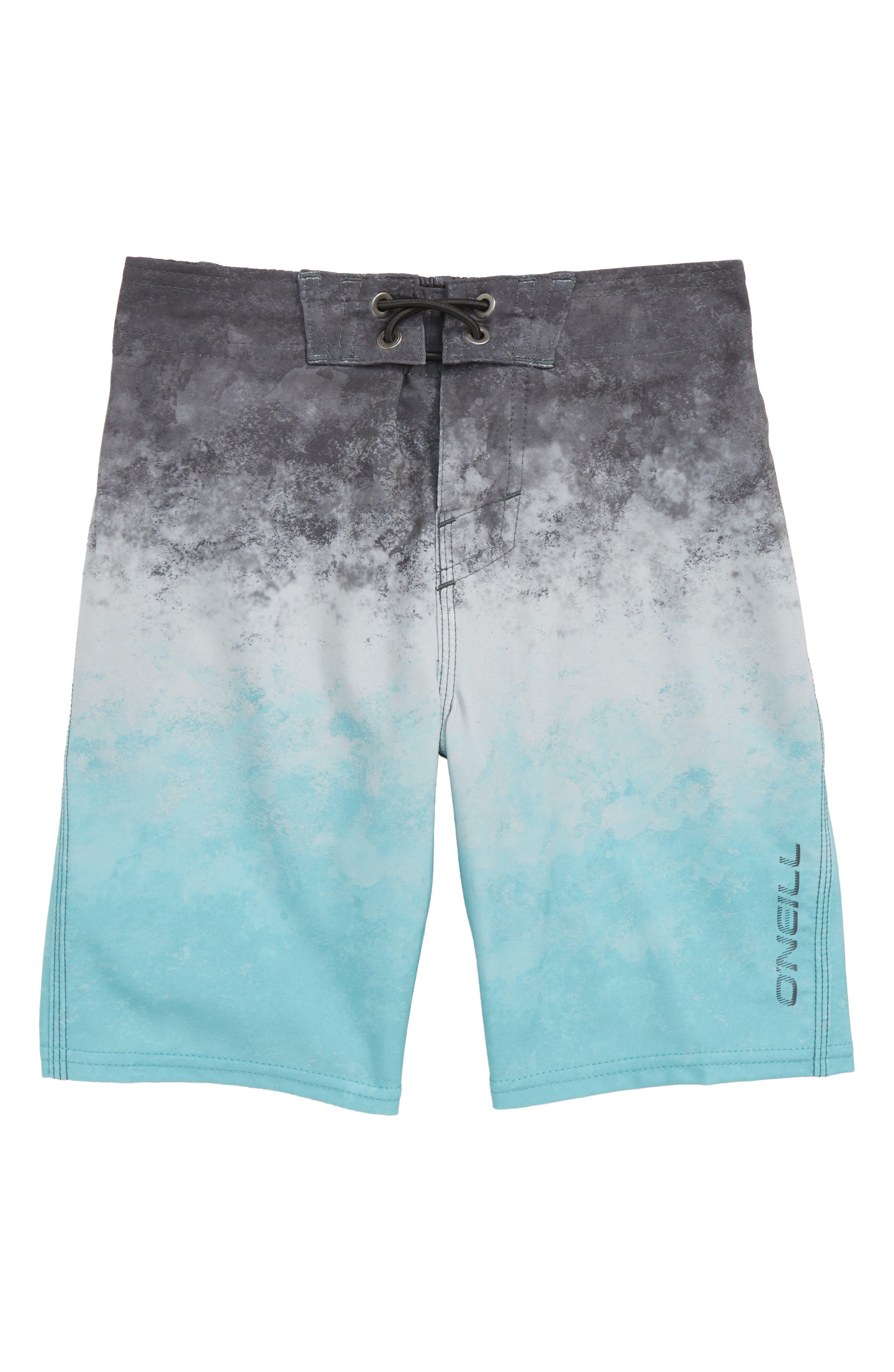 Sneakyfreak Surface Board Shorts,                             Main thumbnail 1, color,                             AQUA