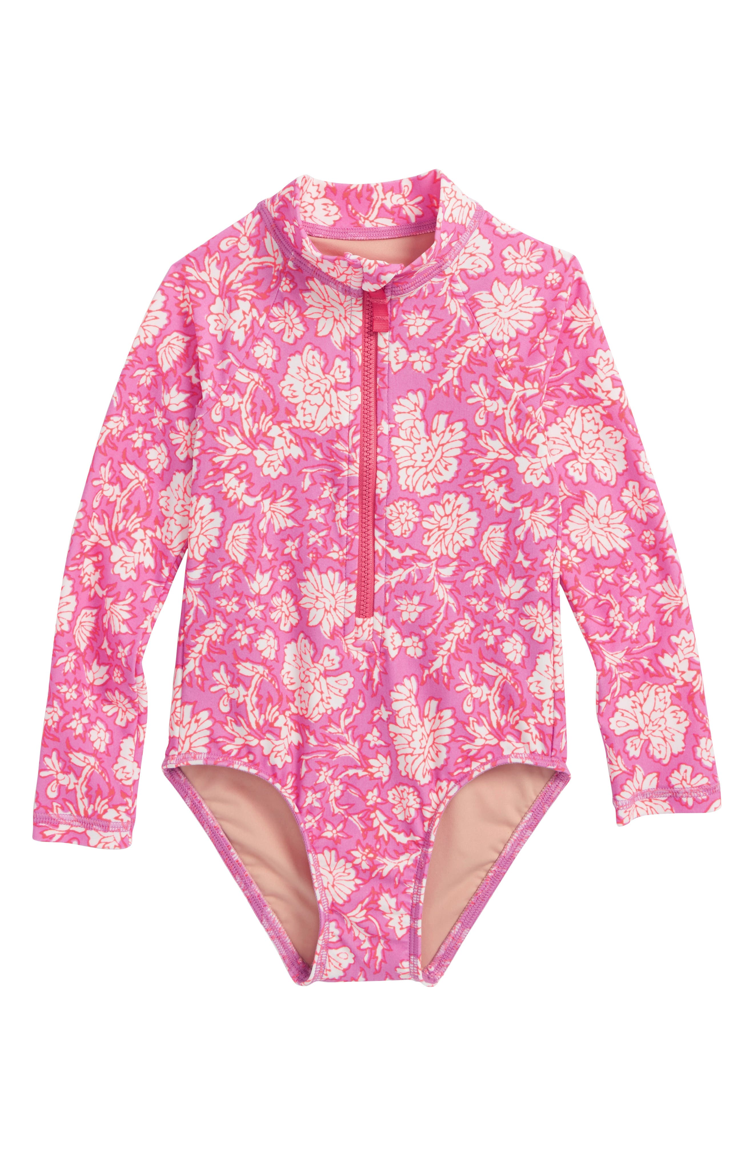 SZ Blockprints<sup>™</sup> Floral One-Piece Rashguard,                             Main thumbnail 1, color,                             900