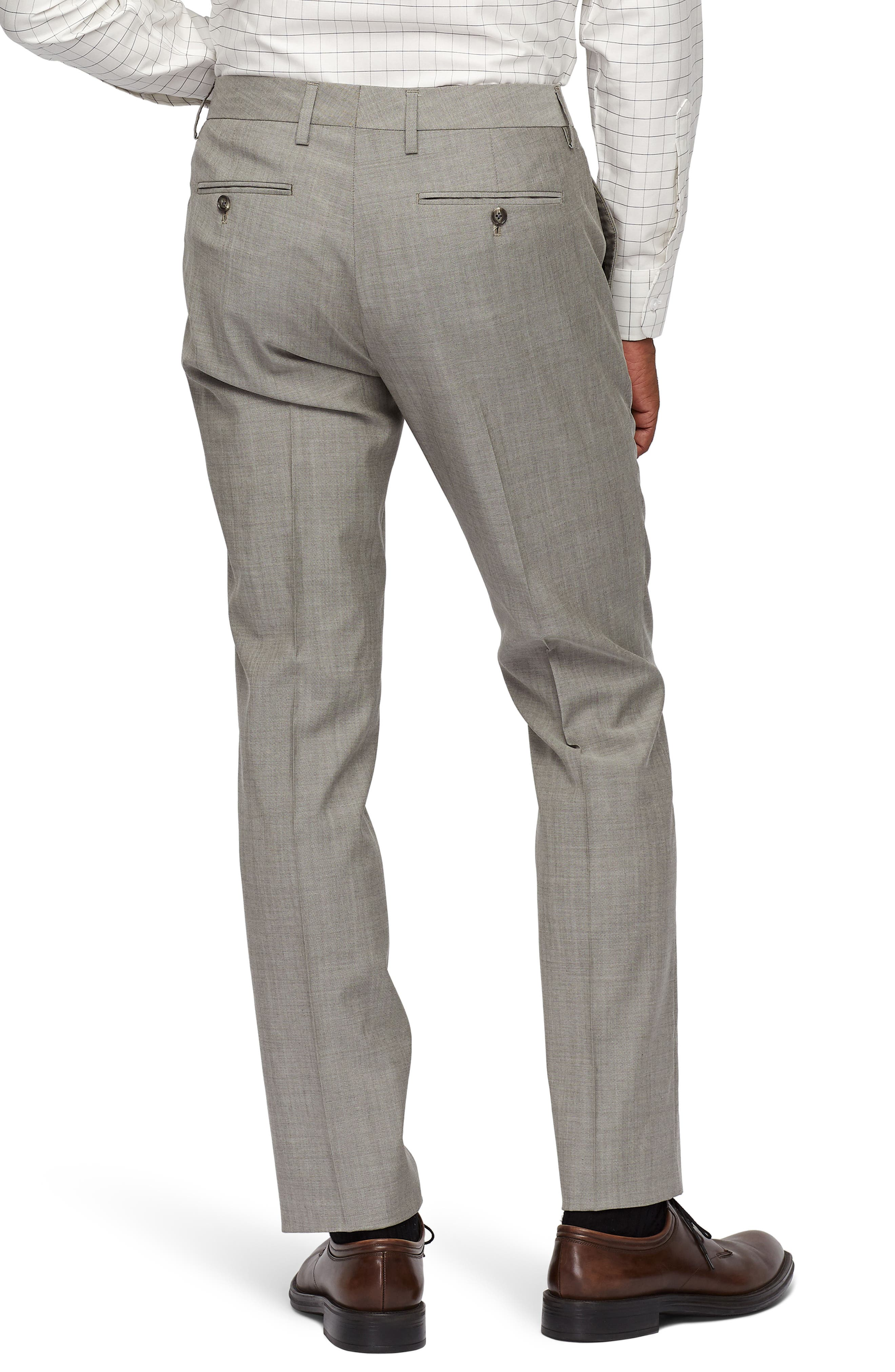 Jetsetter Slim Fit Stretch Suit Pants,                             Alternate thumbnail 2, color,                             LIGHT BROWN