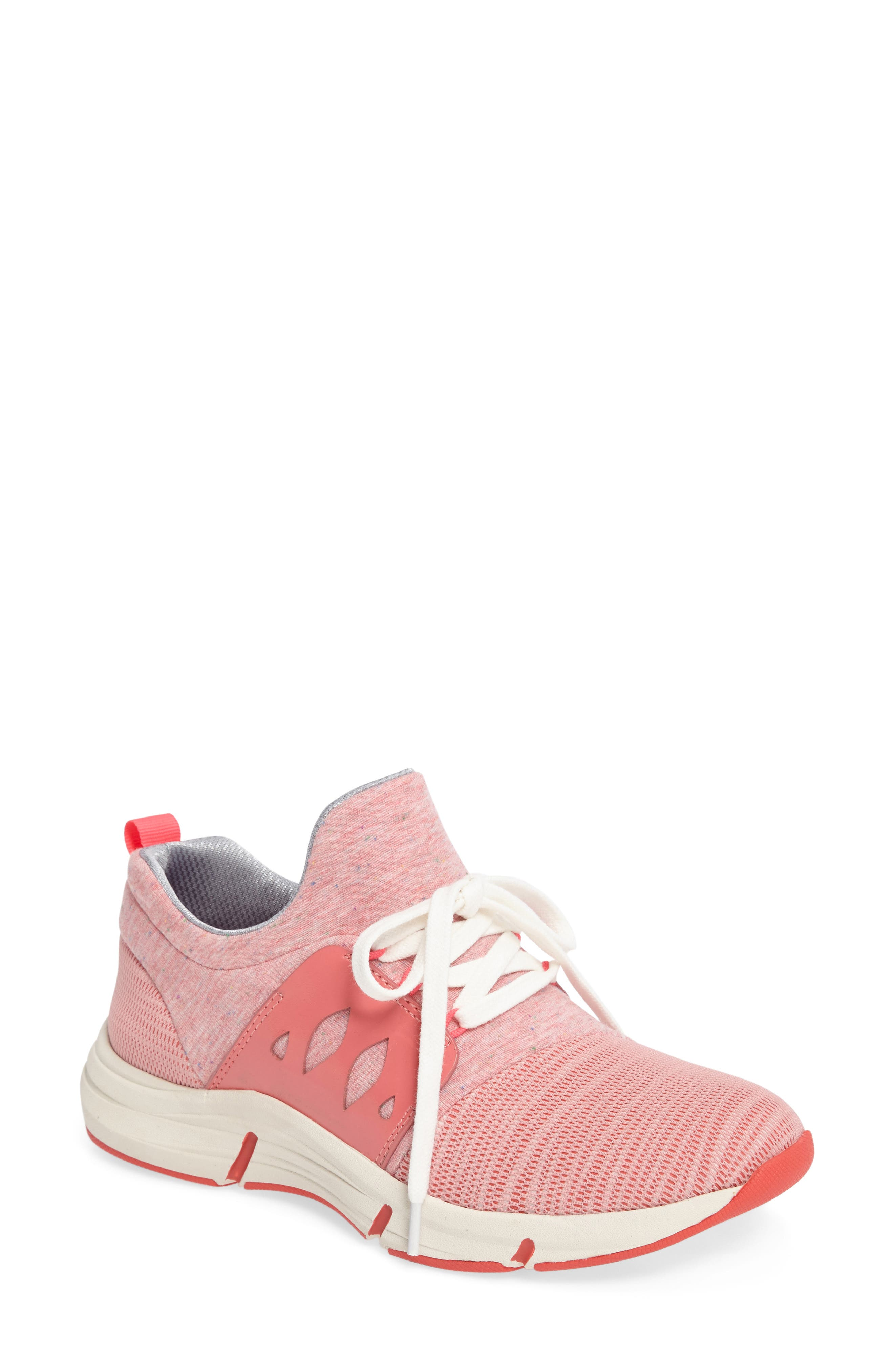 Ordell Sneaker,                         Main,                         color, PINK FABRIC
