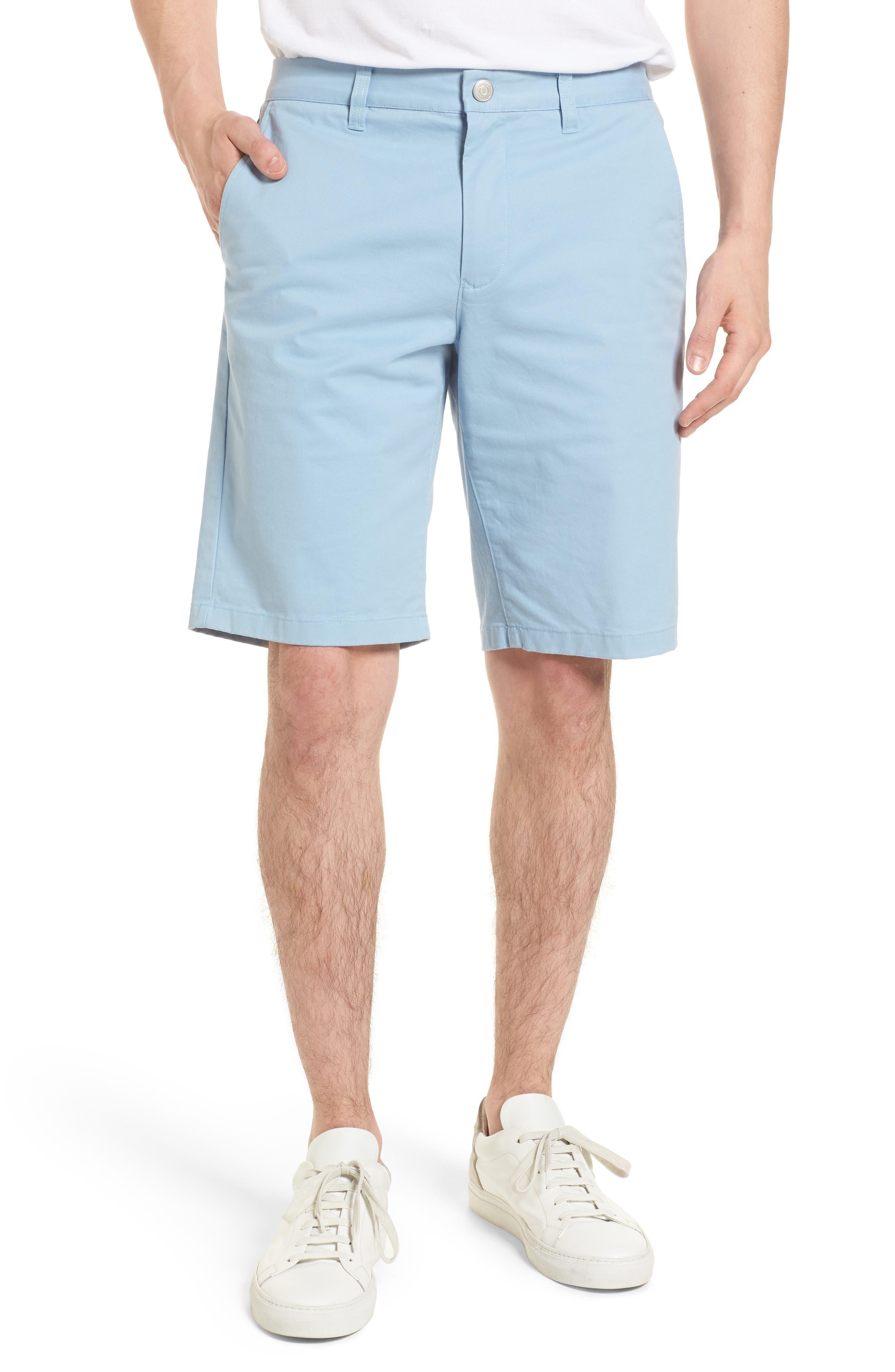 Stretch Washed Chino 11-Inch Shorts,                             Main thumbnail 4, color,
