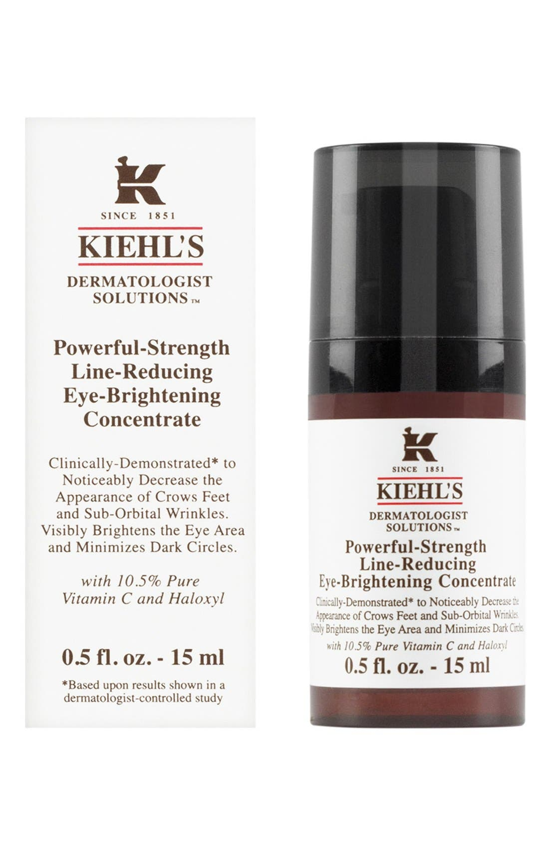Kiehl's Since 1851 'Dermatologist Solutions<sup>™</sup>' Powerful-Strength Line-Reducing Eye-Brightening Concentrate,                             Alternate thumbnail 5, color,                             NO COLOR