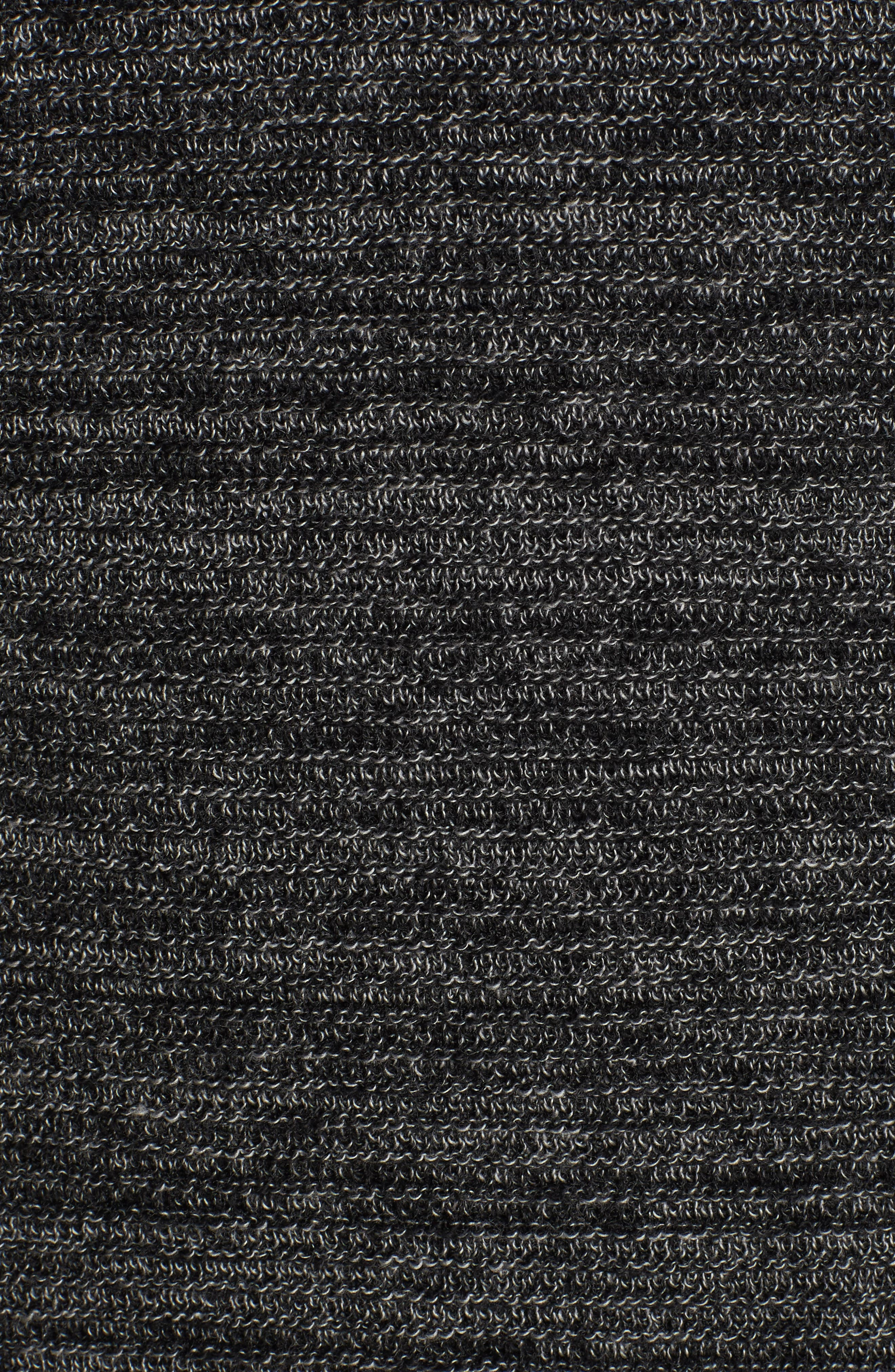 Ottoman Wool Blend Sweater,                             Alternate thumbnail 5, color,                             001