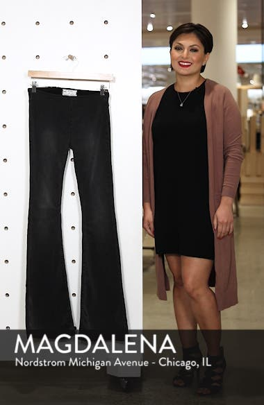 We the Free by Free People Gummy Pull-On Flare Leg Jeans, sales video thumbnail