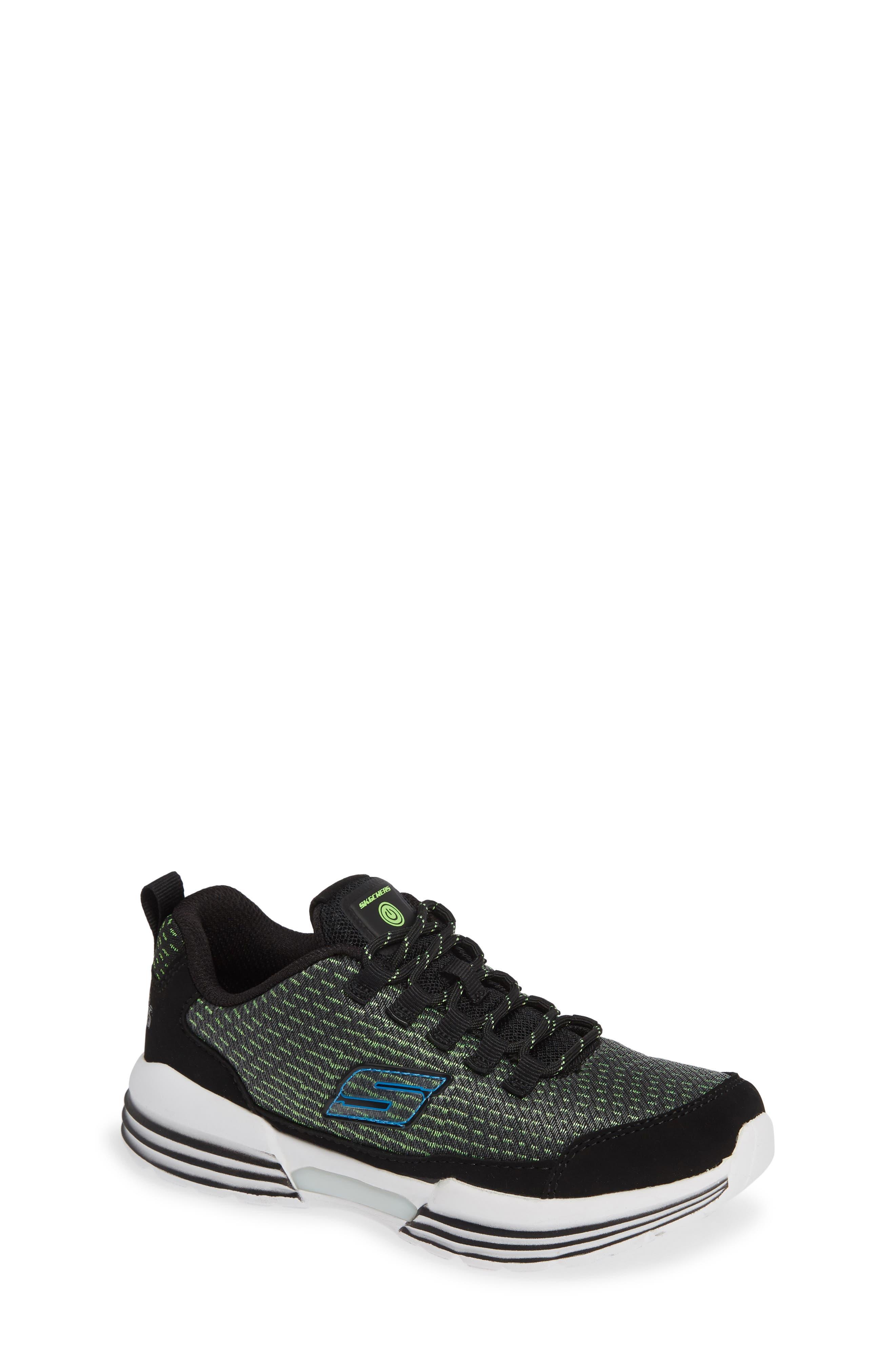 Luminators Sneaker,                             Main thumbnail 1, color,                             BLACK/ LIME