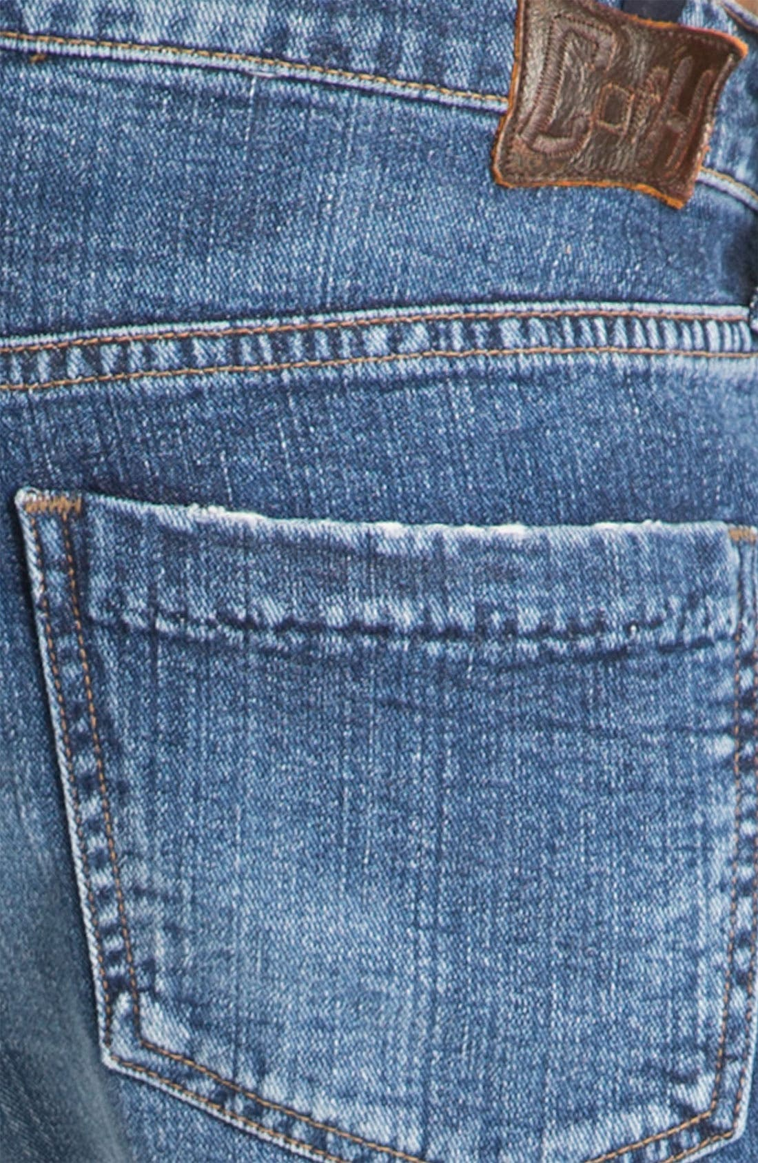 'Dylan' High Rise Loose Fit Jeans,                             Alternate thumbnail 4, color,                             479
