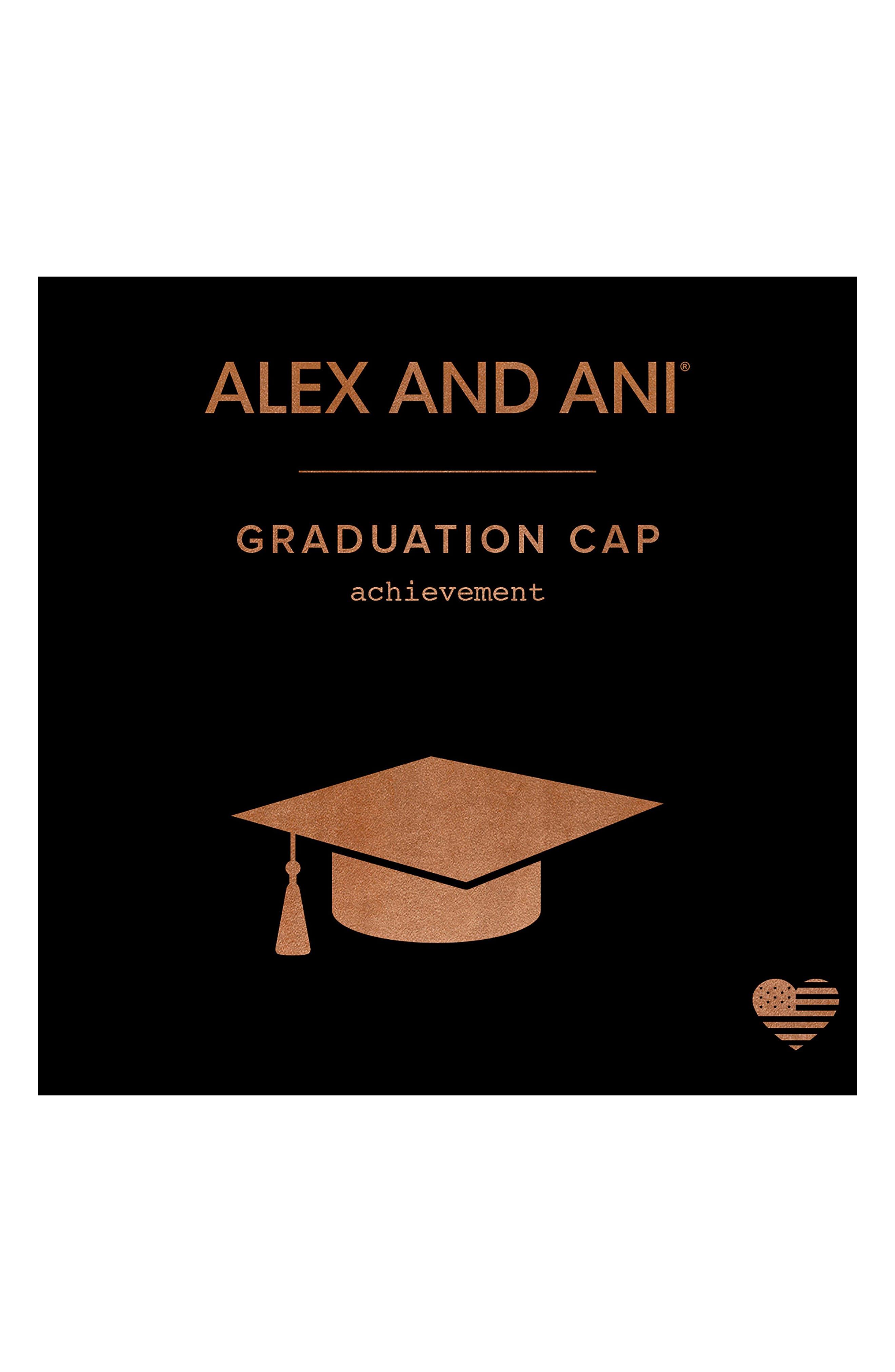 Graduation Cap 2018 Adjustable Wire Bangle,                             Alternate thumbnail 3, color,                             040
