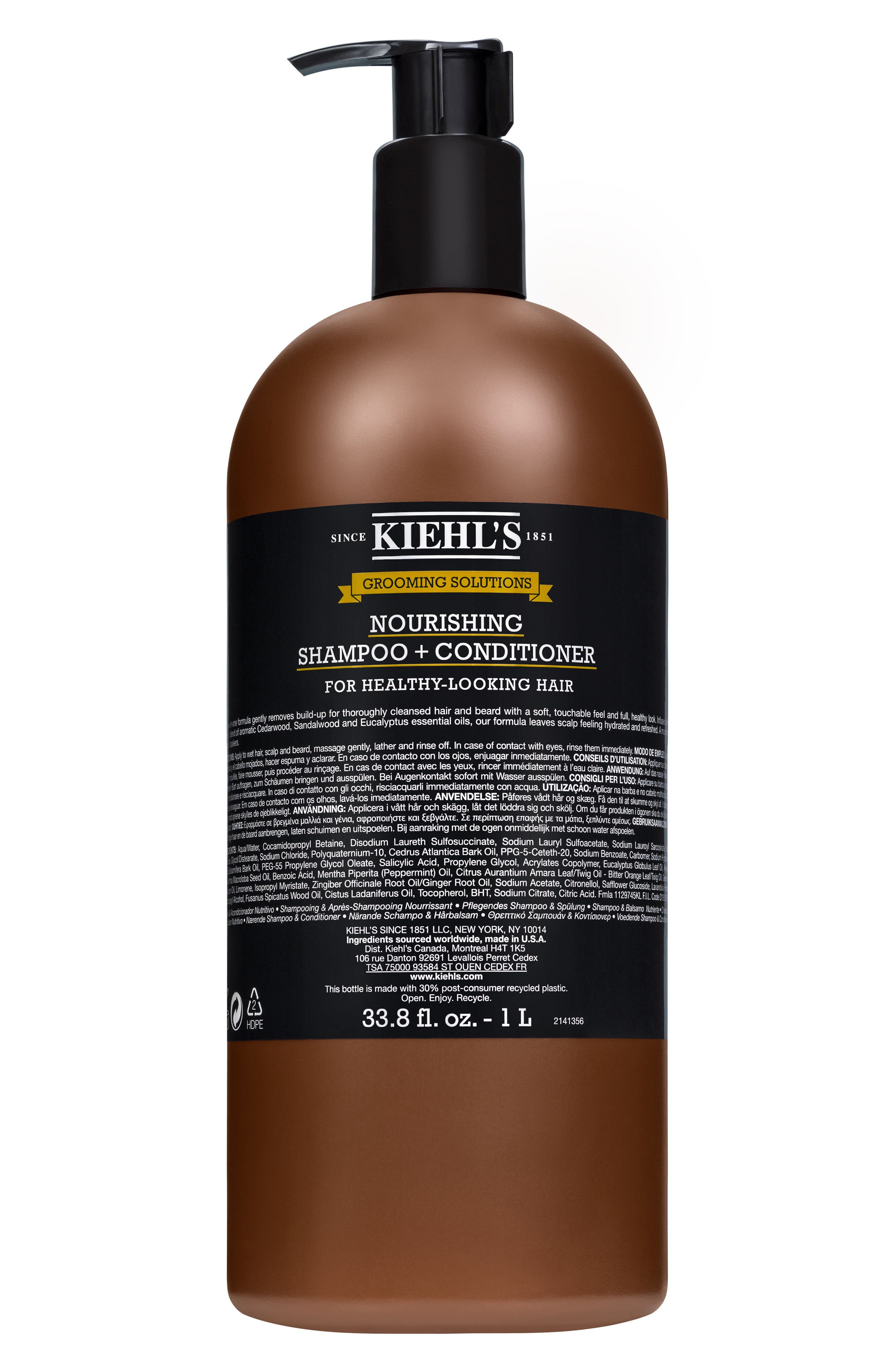 Healthy Hair Scalp Shampoo & Conditioner,                             Alternate thumbnail 3, color,                             000