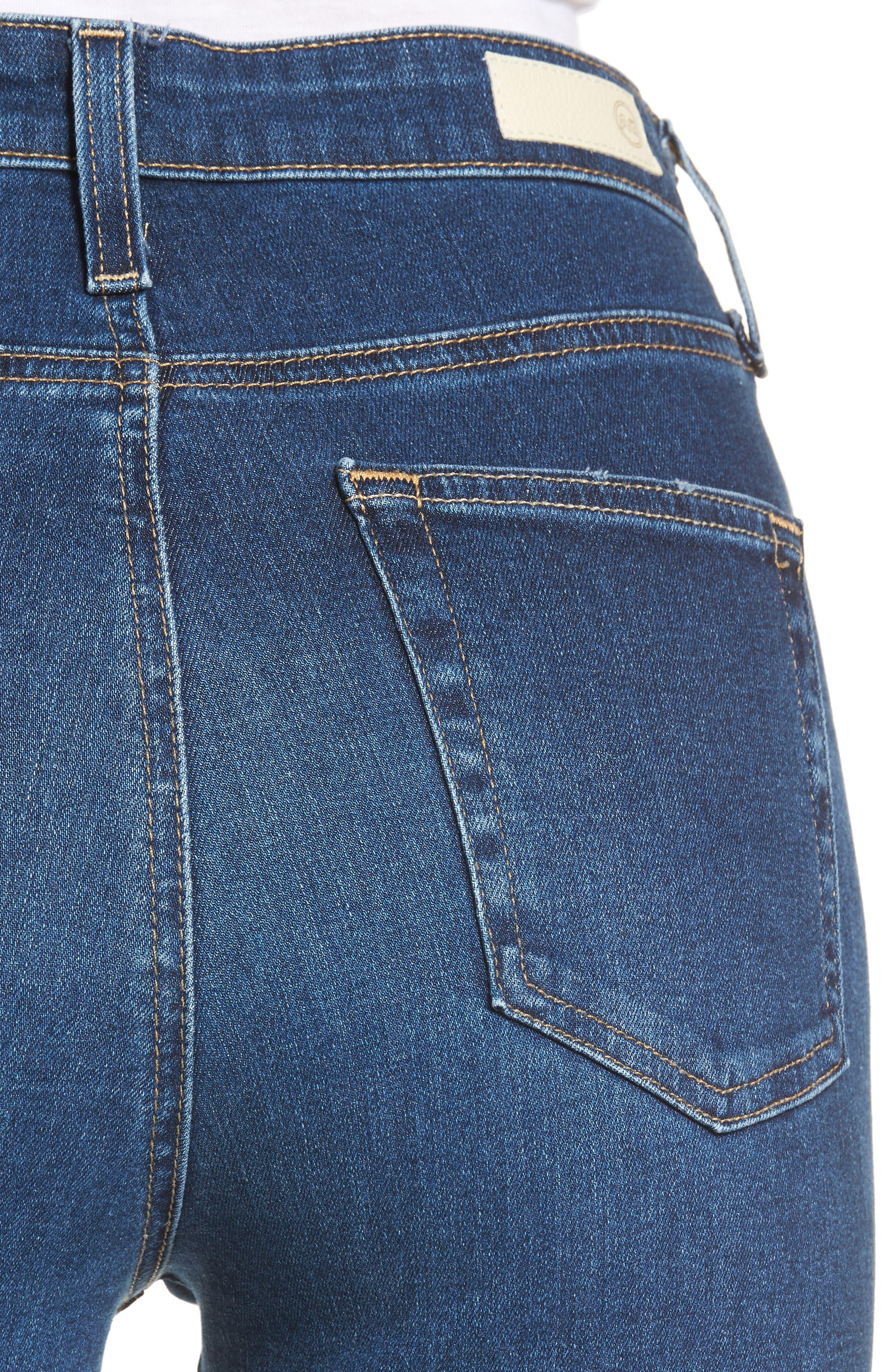 Mila High Waist Skinny Jeans,                             Alternate thumbnail 4, color,                             473