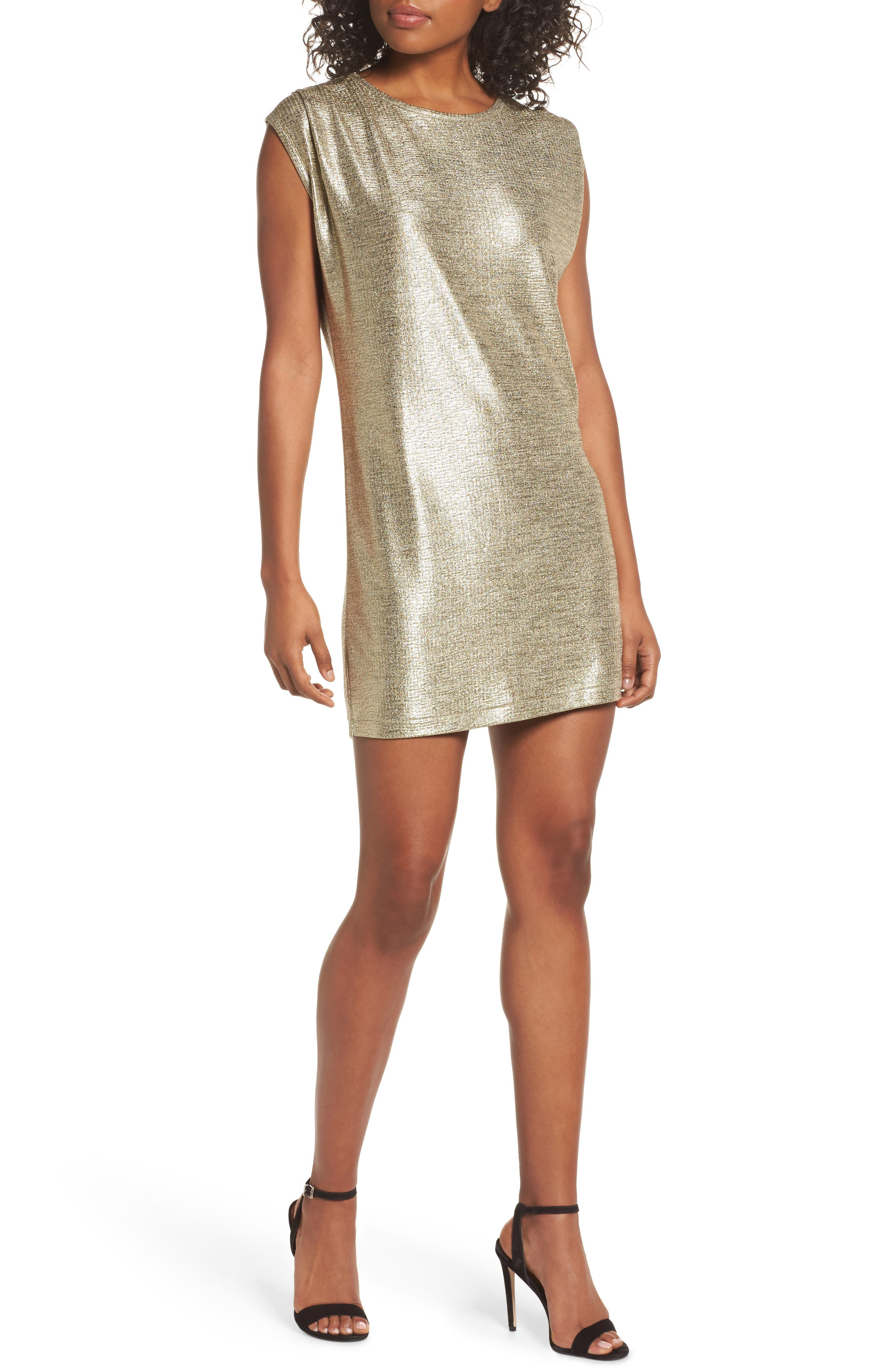 KNOT SISTERS Disco Minidress, Main, color, 718