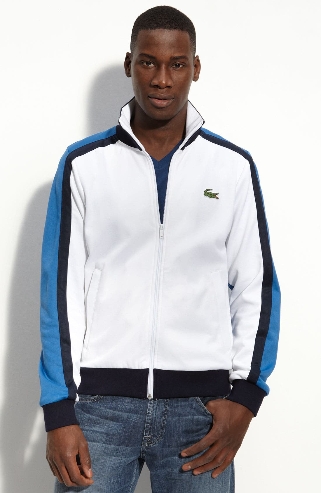 Colorblock Track Jacket, Main, color, 119
