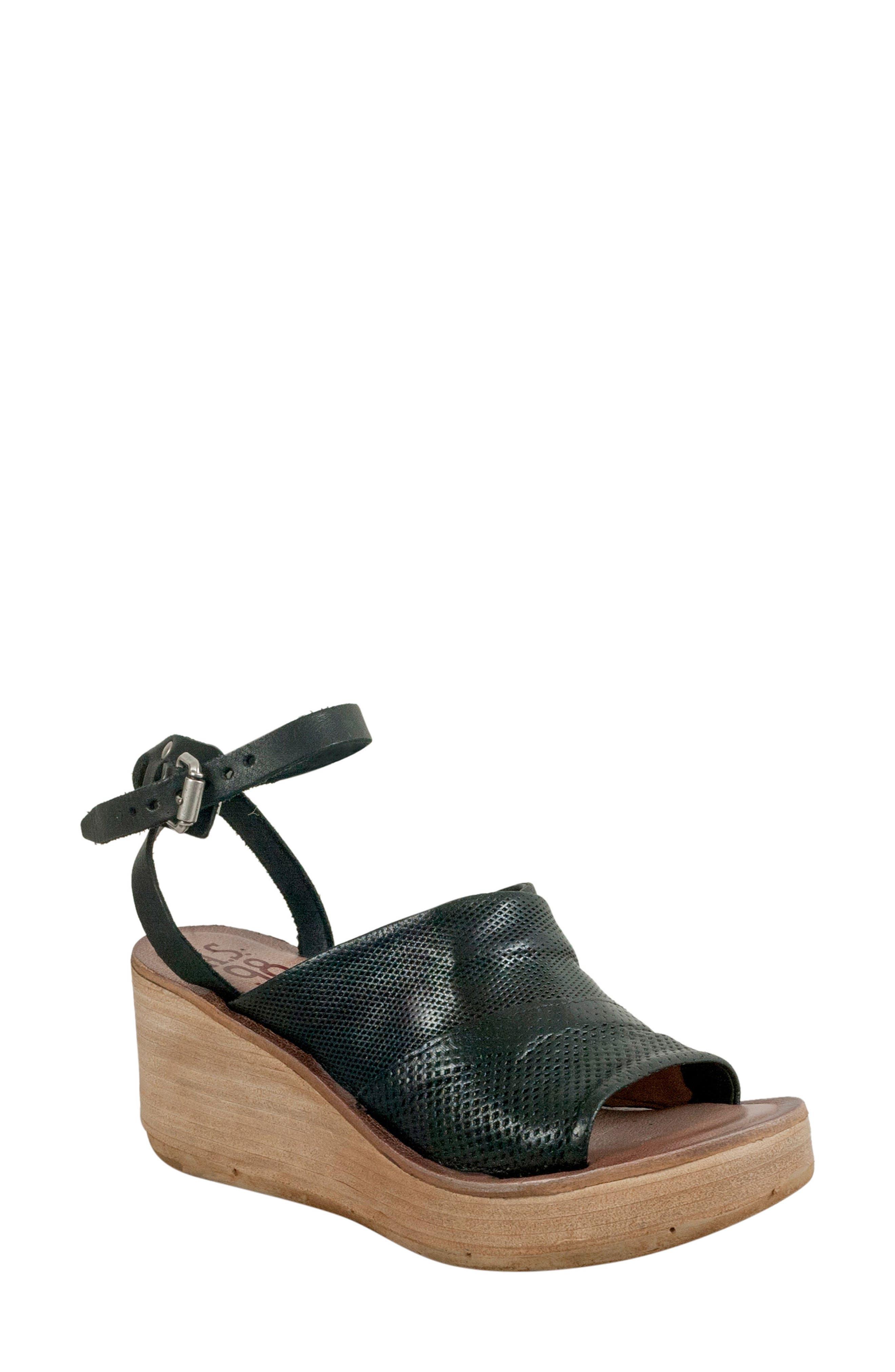 Niall Platform Wedge Sandal,                         Main,                         color,