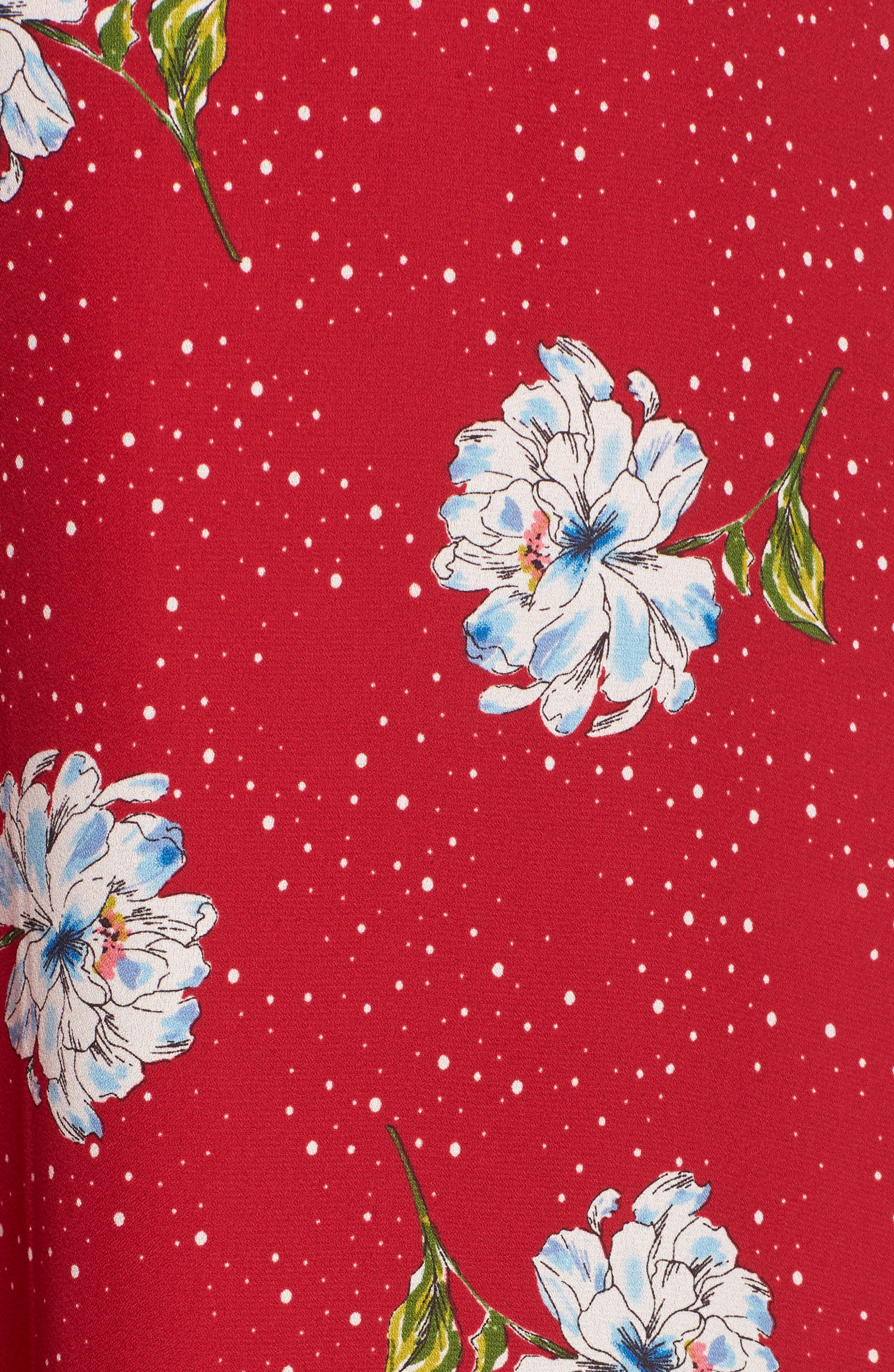 Surplice Maxi Dress,                             Alternate thumbnail 5, color,                             602