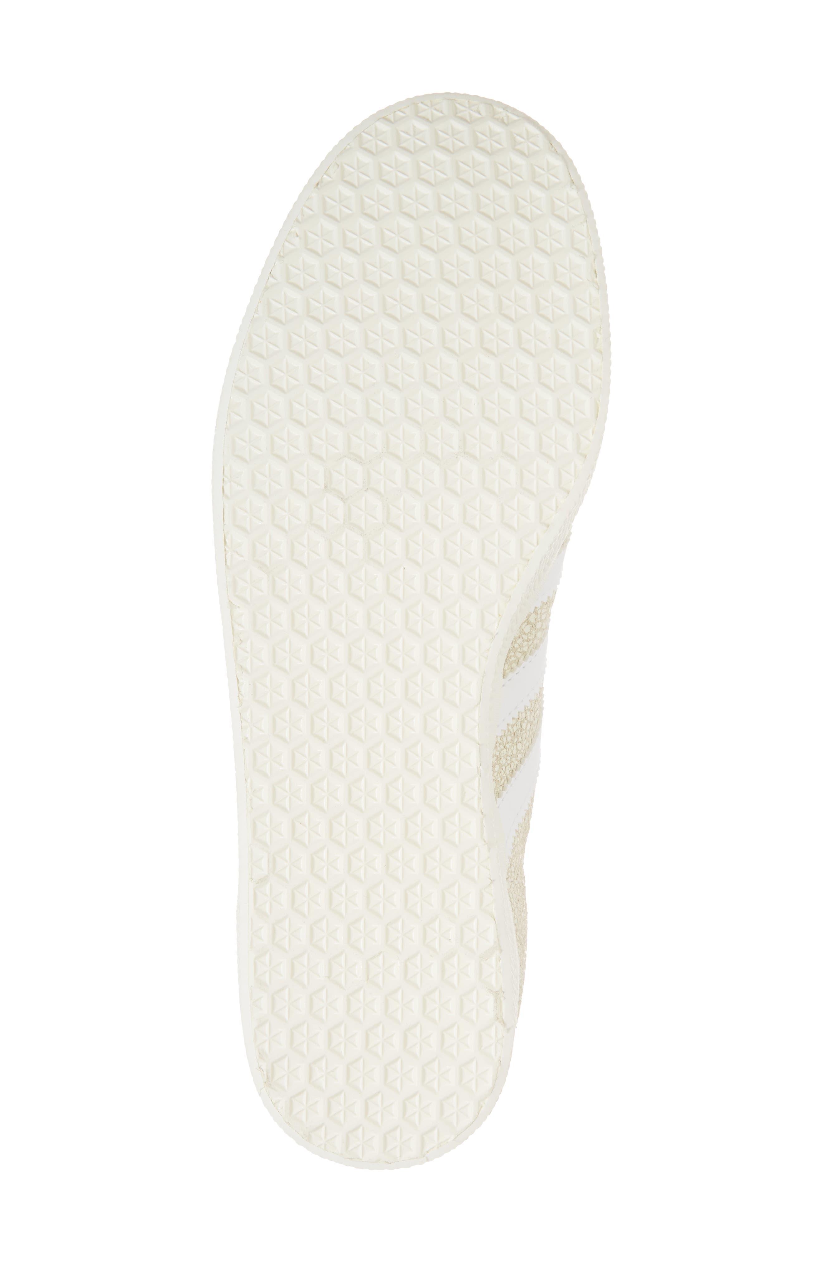 Gazelle Sneaker,                             Alternate thumbnail 6, color,                             OFF WHITE/ WHITE/ OFF WHITE