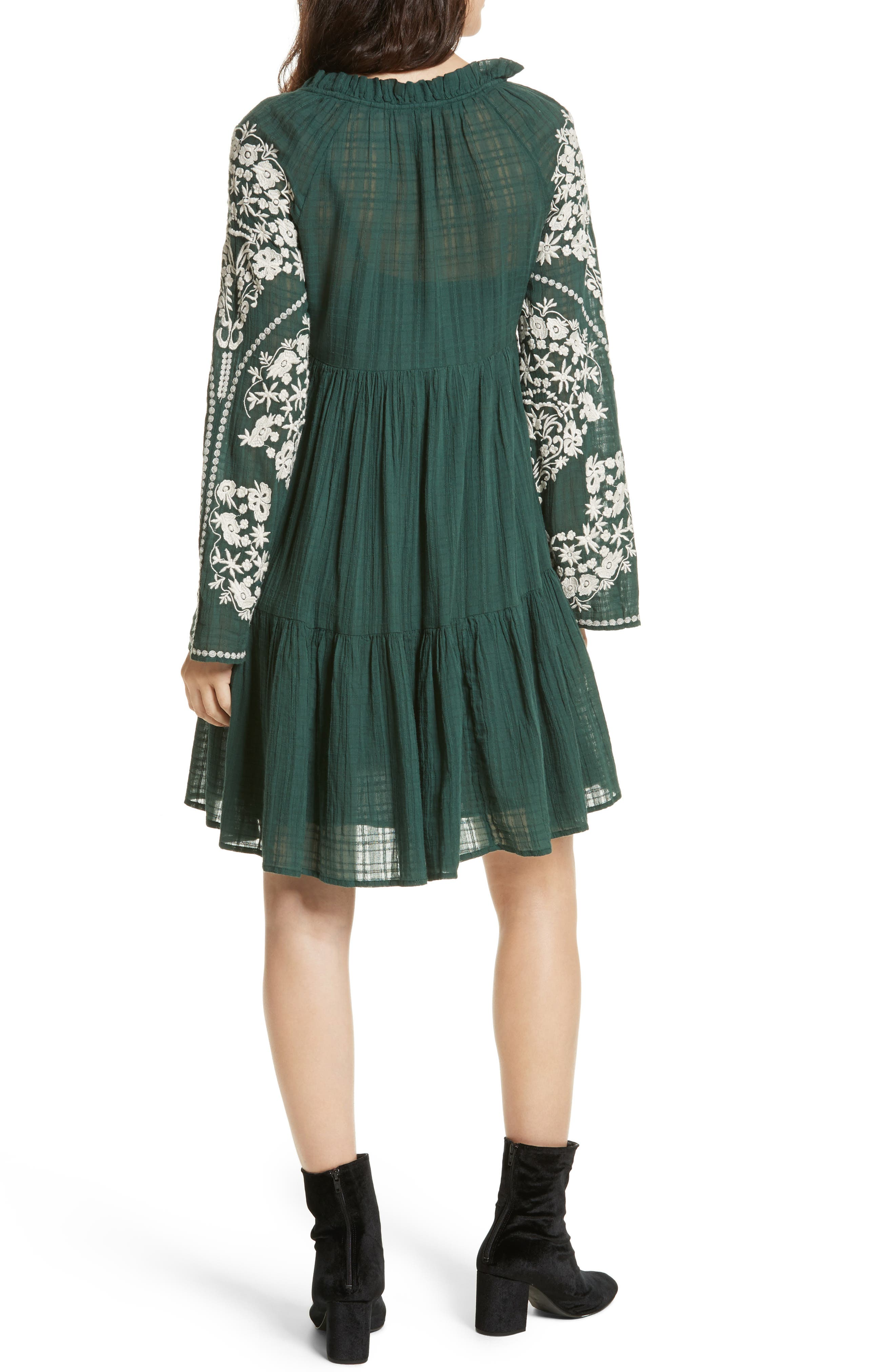 Emerald City Shift Dress,                             Alternate thumbnail 2, color,                             300