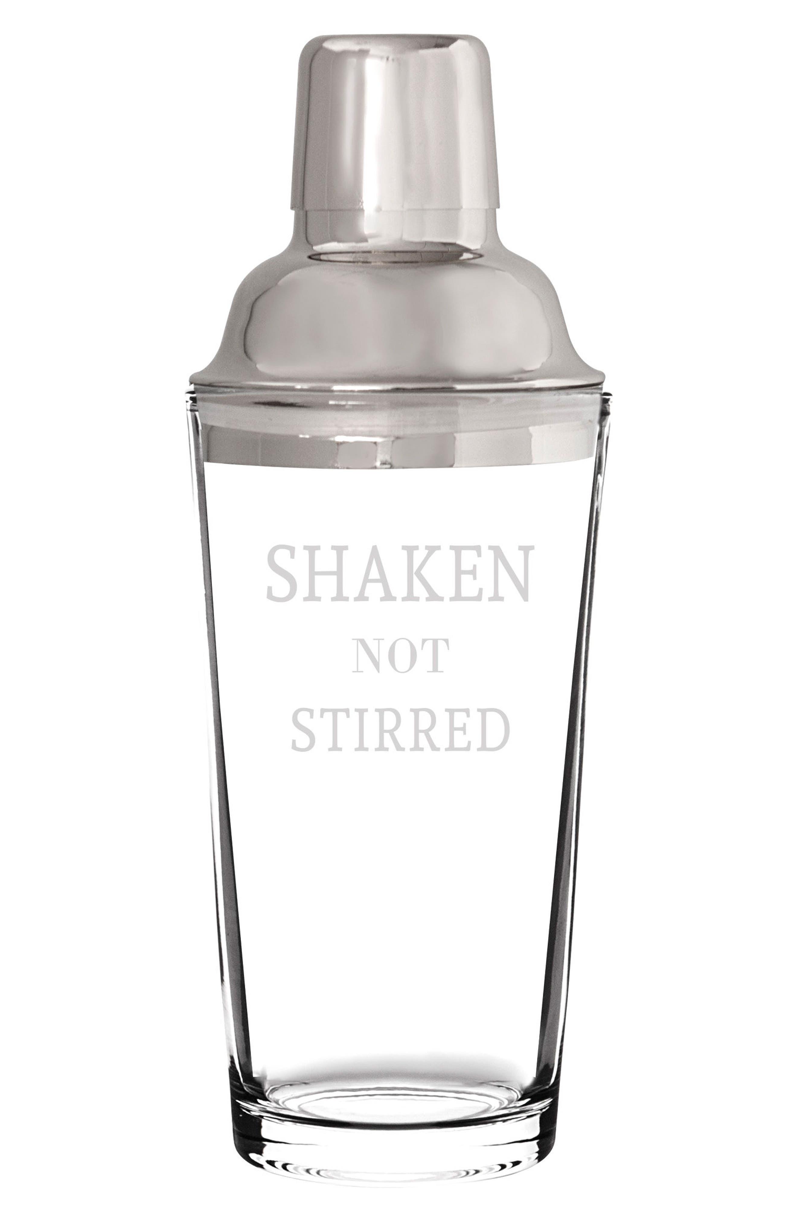 Shaken Not Stirred Cocktail Shaker,                             Main thumbnail 1, color,