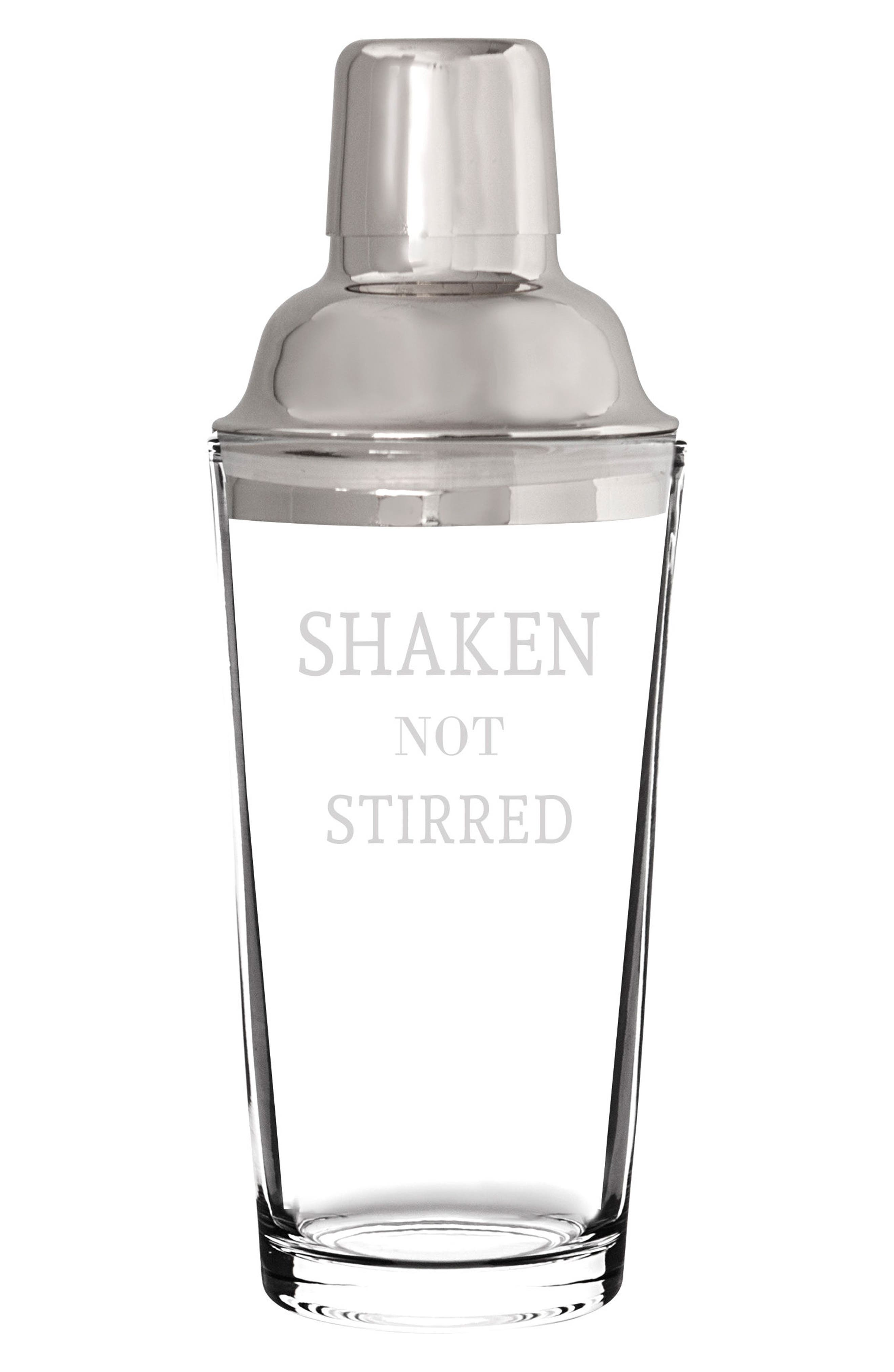Shaken Not Stirred Cocktail Shaker,                         Main,                         color,