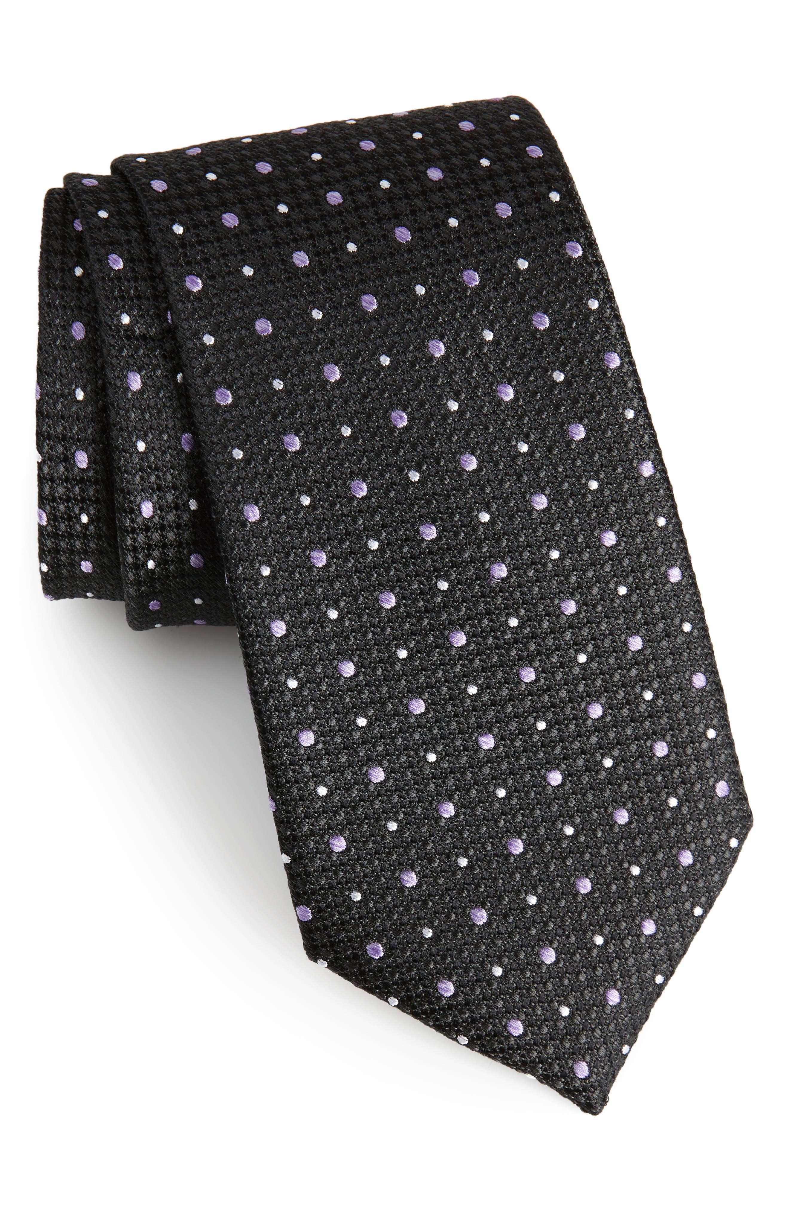 Gest Dot Silk Tie,                         Main,                         color,