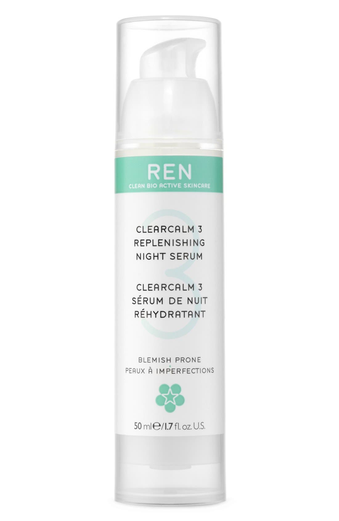 SPACE.NK.apothecary REN Clearcalm 3 Replenishing Gel Creme,                             Alternate thumbnail 2, color,                             000