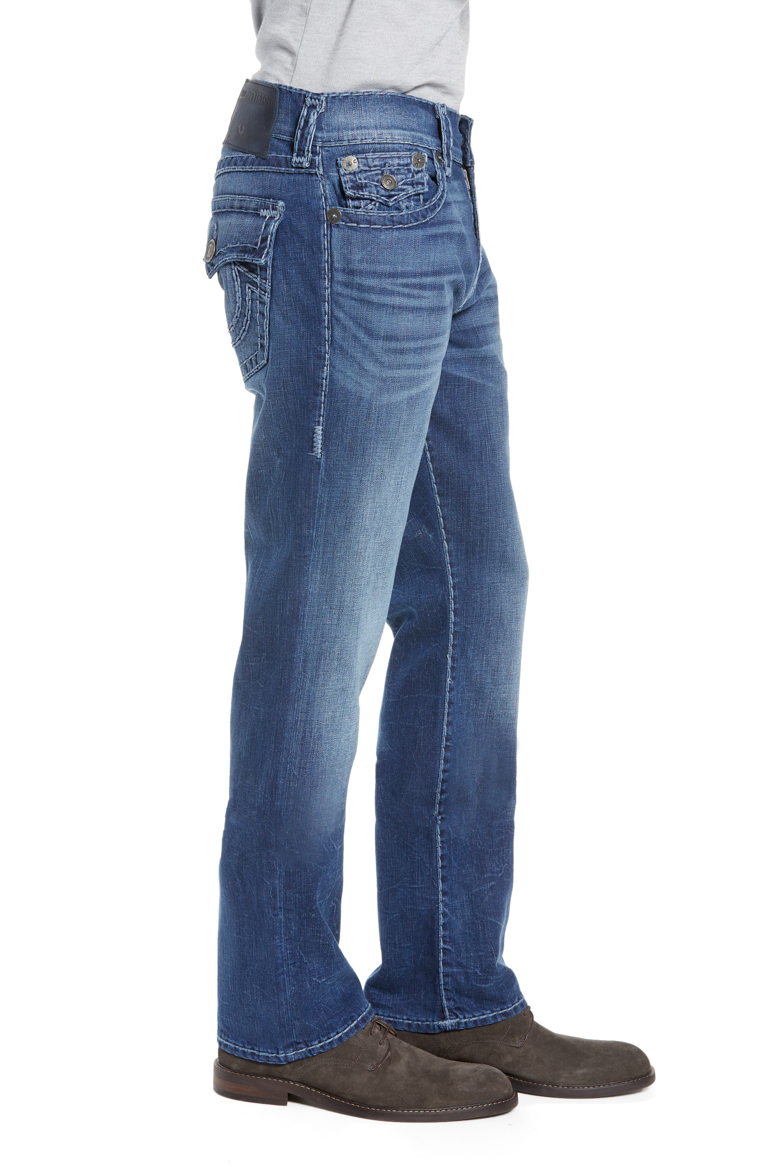 Ricky Relaxed Fit Jeans,                             Alternate thumbnail 3, color,                             HIGH FREQUENCY
