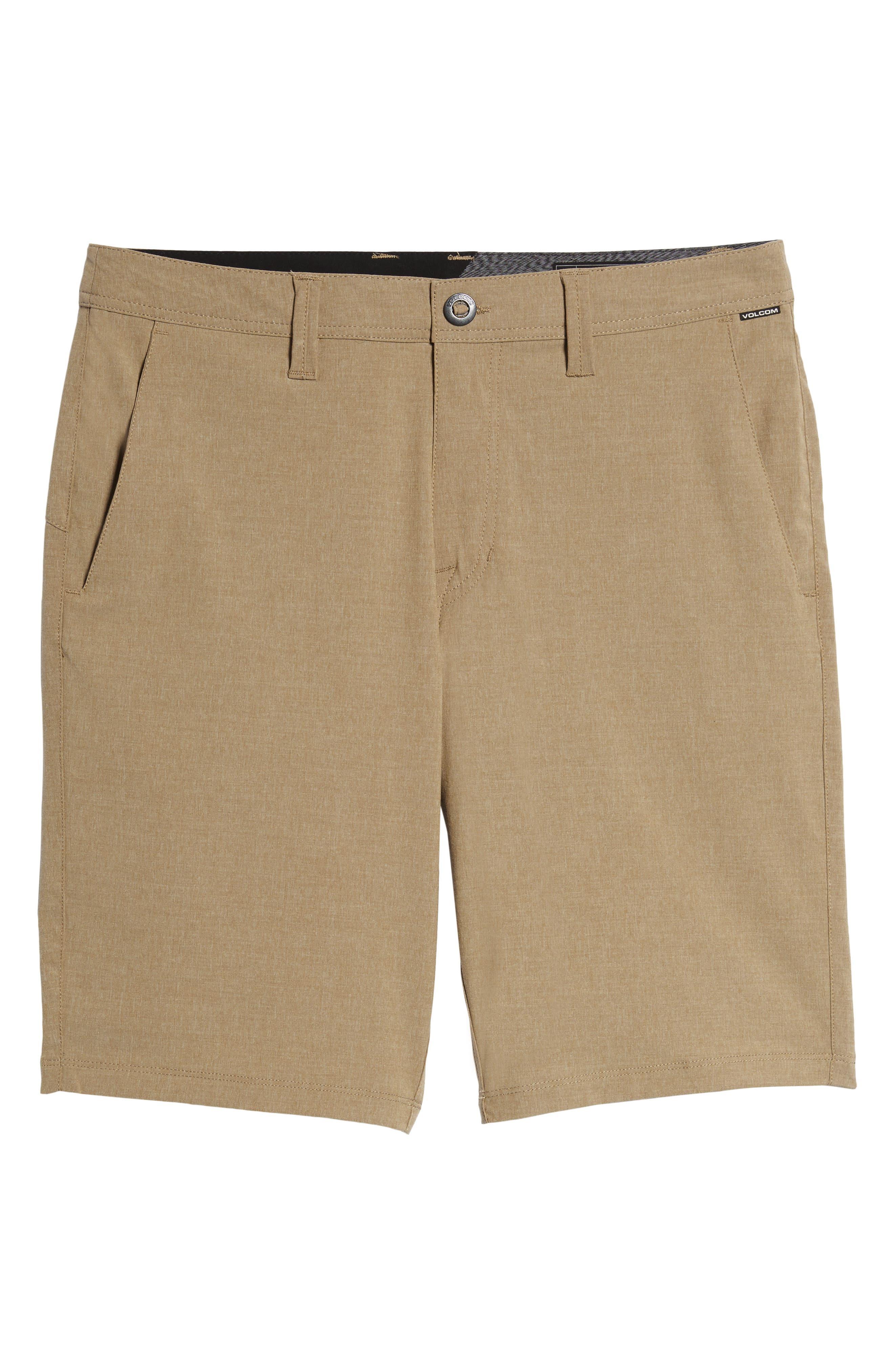 Hybrid Shorts,                             Alternate thumbnail 6, color,                             BEIGE