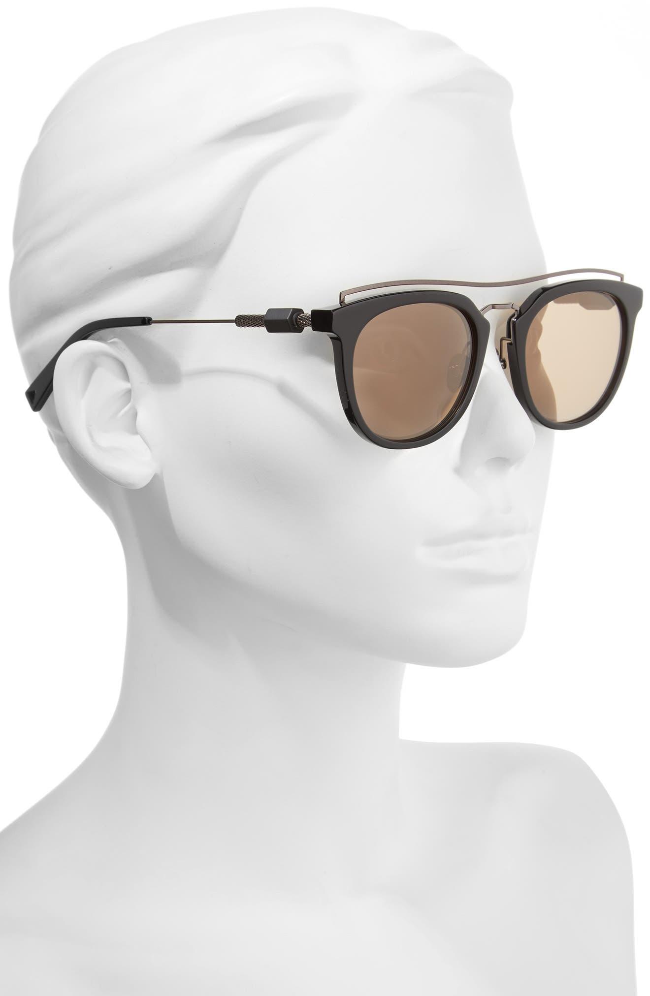Zeal 52mm Aviator Sunglasses,                             Alternate thumbnail 10, color,