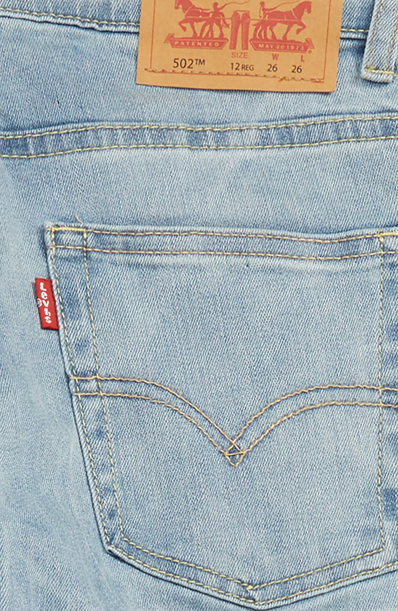 LEVI'S<SUP>®</SUP>,                             Levi's<sup>®</sup> 502<sup>™</sup> Regular Taper Jeans,                             Alternate thumbnail 3, color,                             YOSEMITE FALLS