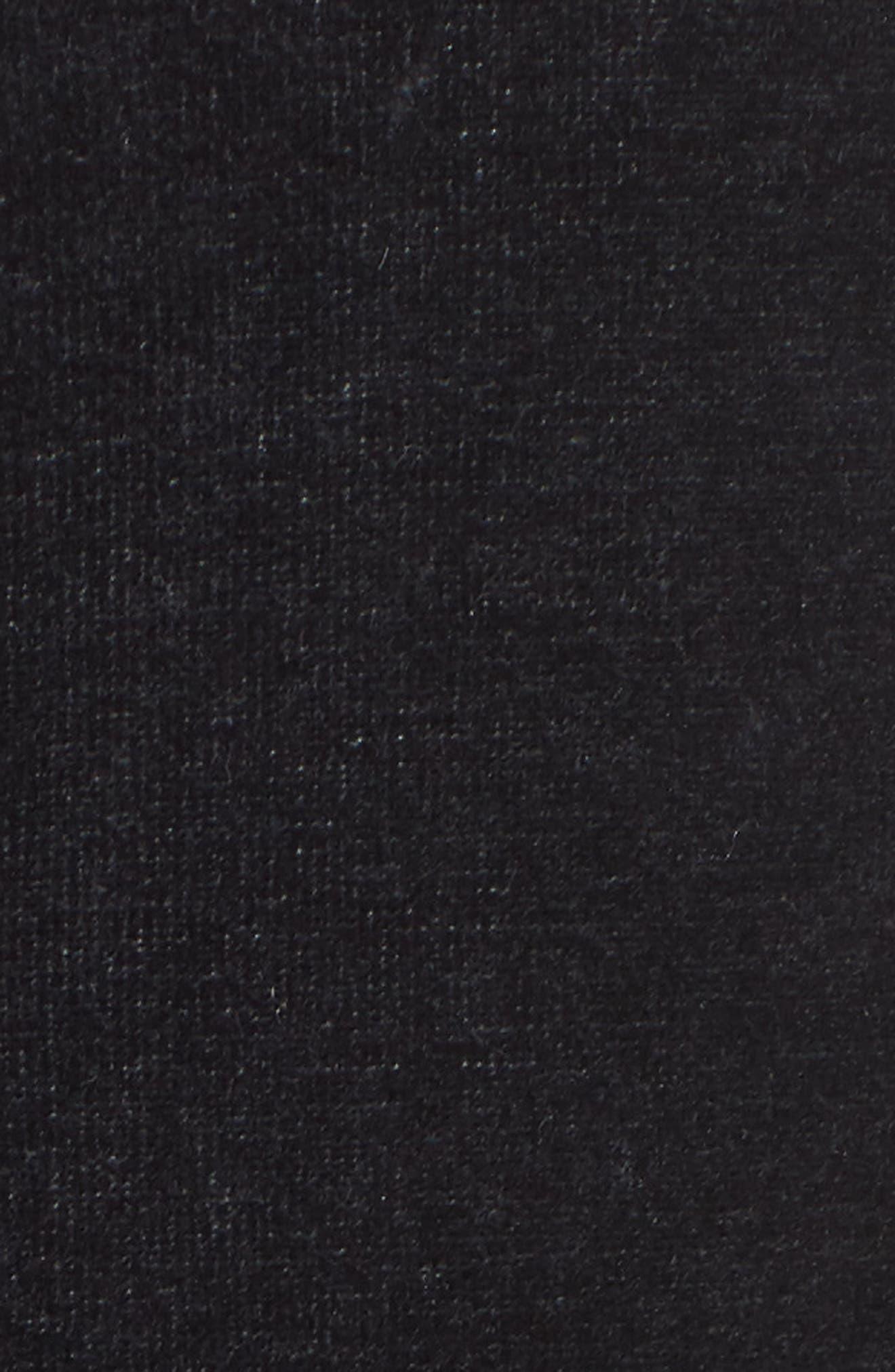 Velour T7 Jumpsuit,                             Alternate thumbnail 5, color,                             001