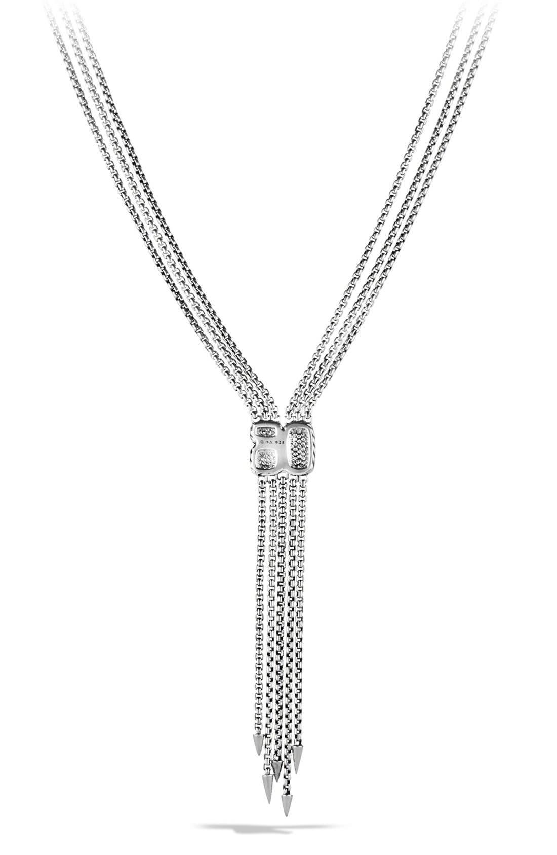 'Confetti' Drop Necklace with Diamonds,                             Alternate thumbnail 4, color,                             040