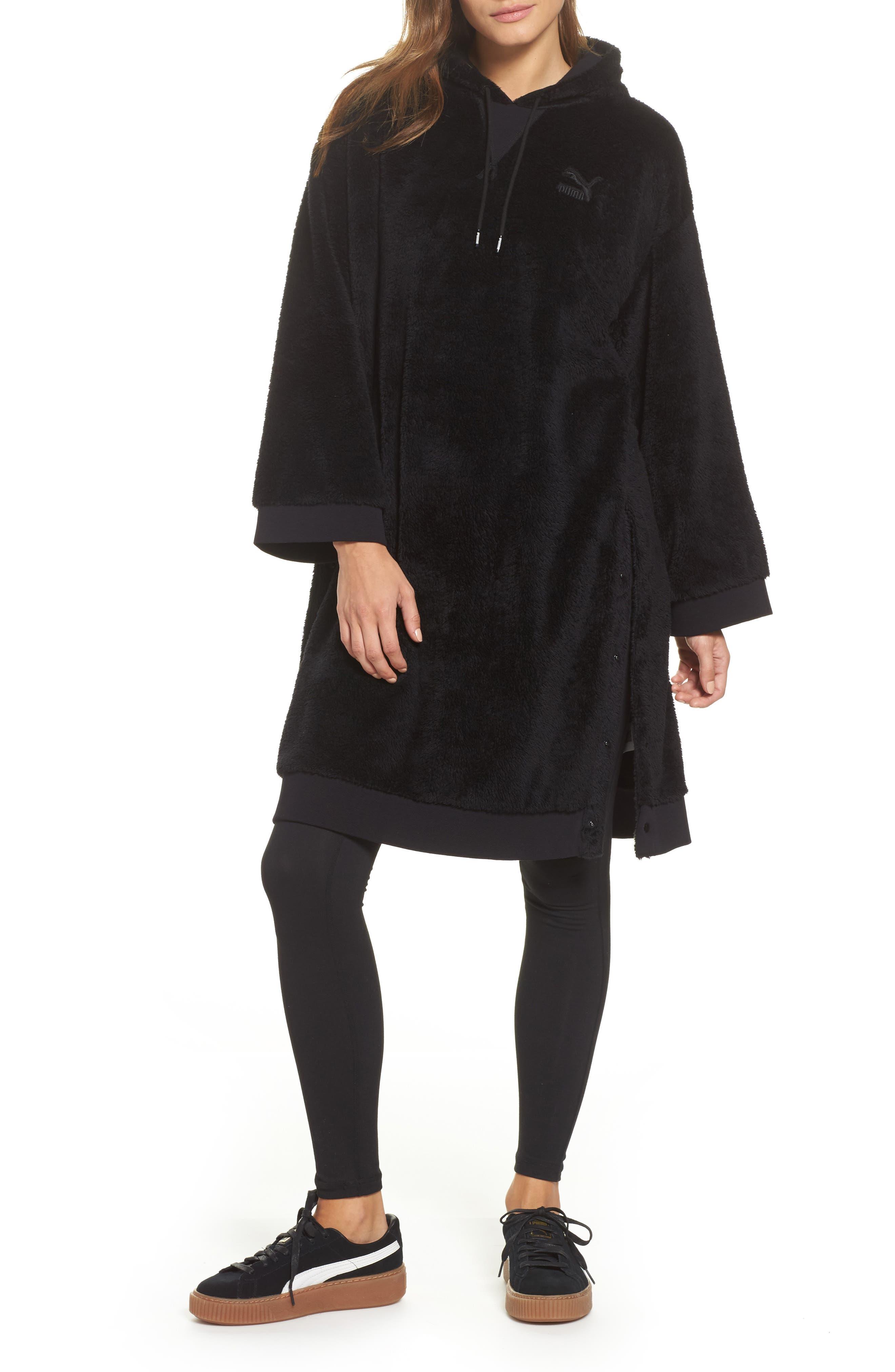 Fleece Oversize Hoodie,                         Main,                         color,