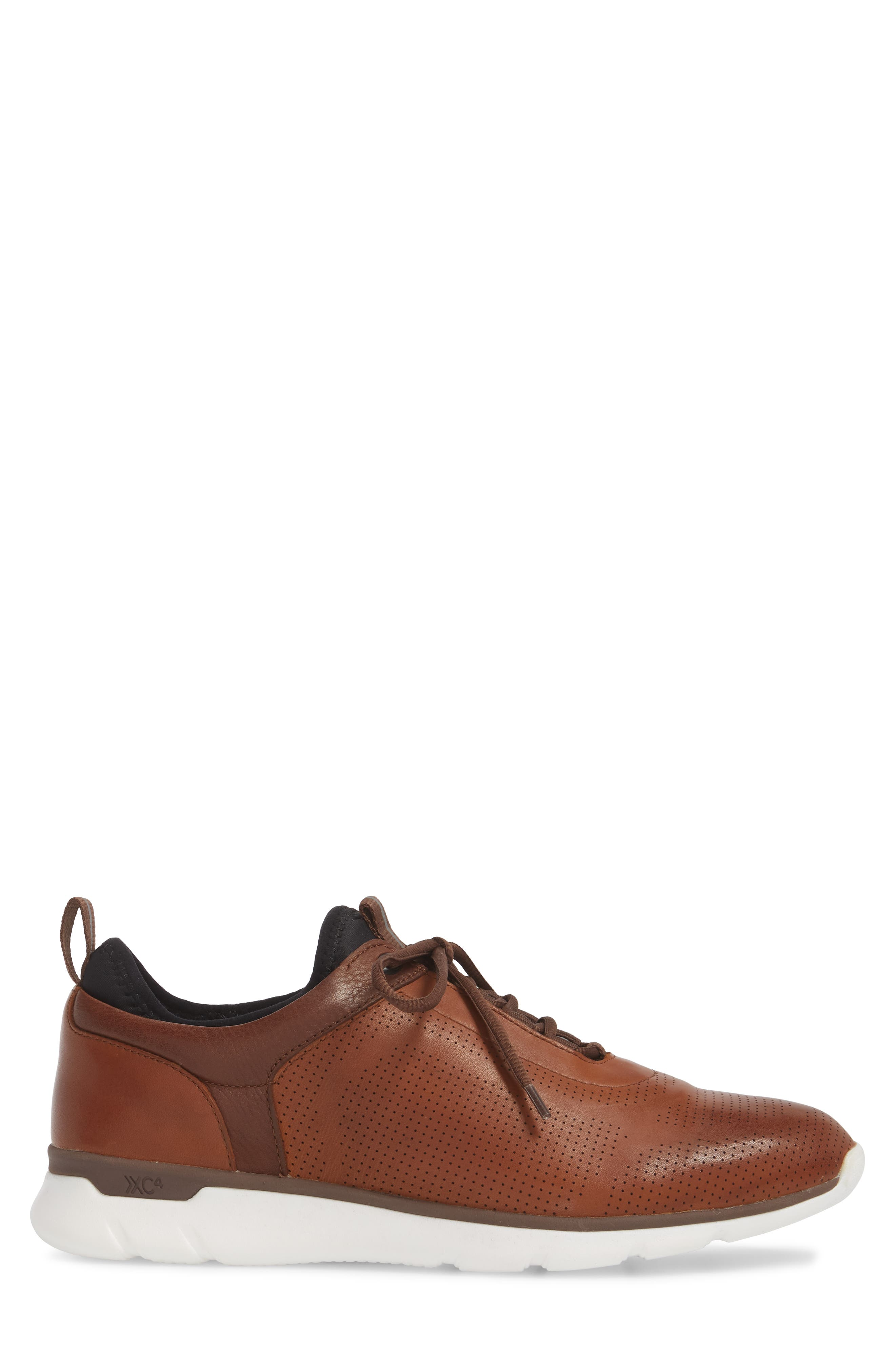 Prentiss XC4<sup>®</sup> Waterproof Sneaker,                             Alternate thumbnail 3, color,                             MAHOGANY LEATHER