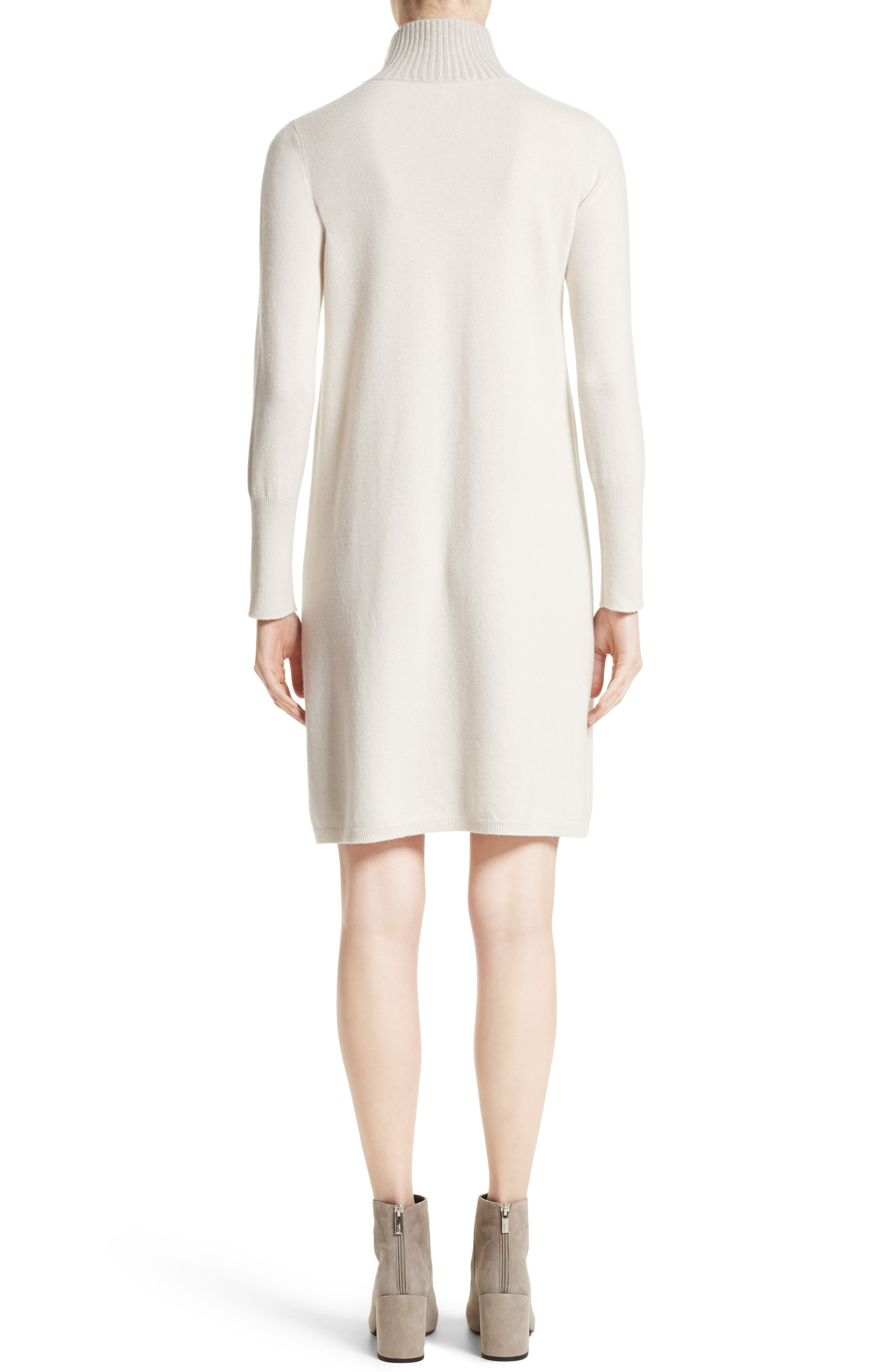 Wool, Silk & Cashmere Knit Dress,                             Alternate thumbnail 2, color,                             101