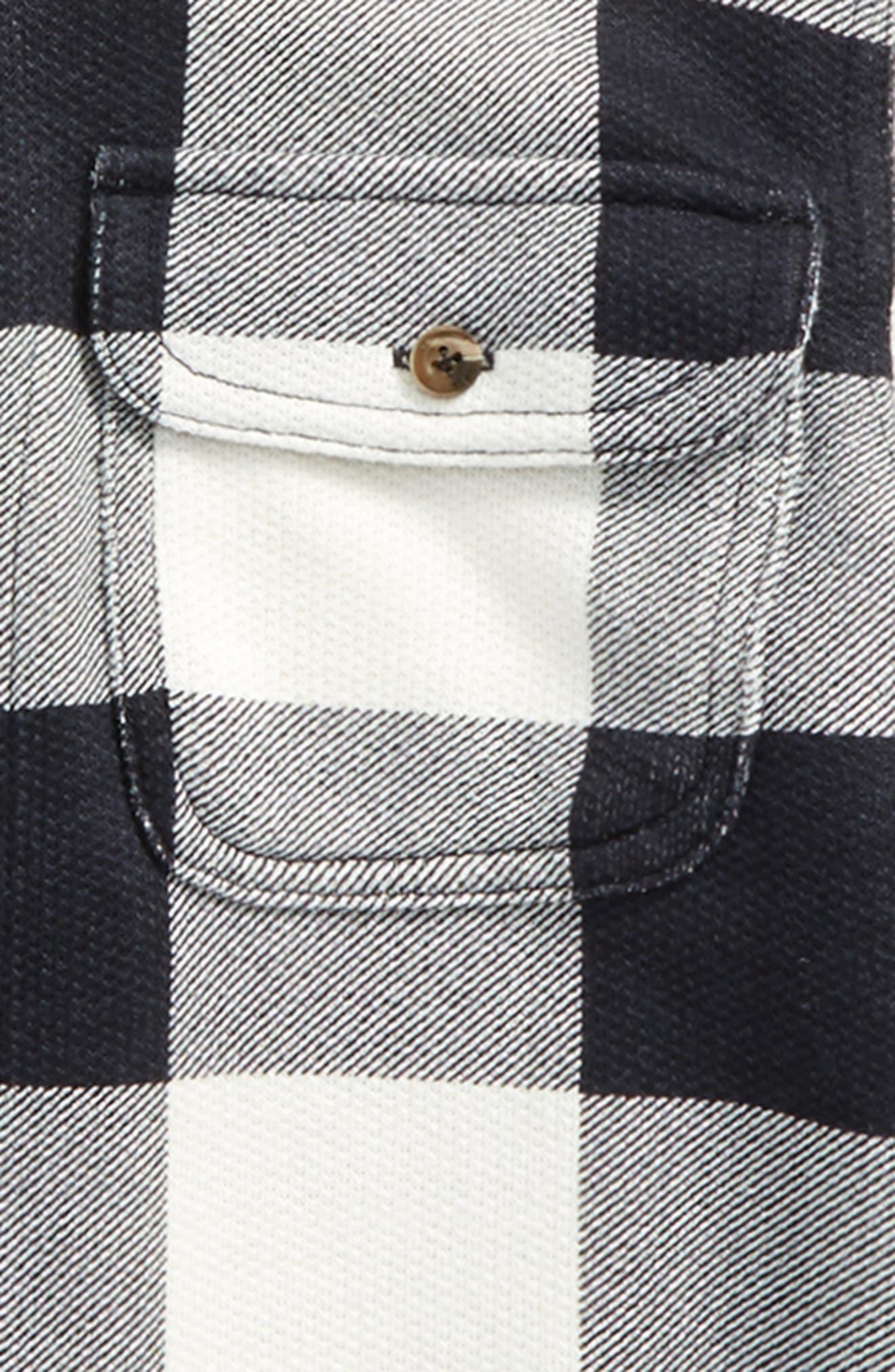 Woven Plaid Shirt,                             Alternate thumbnail 6, color,