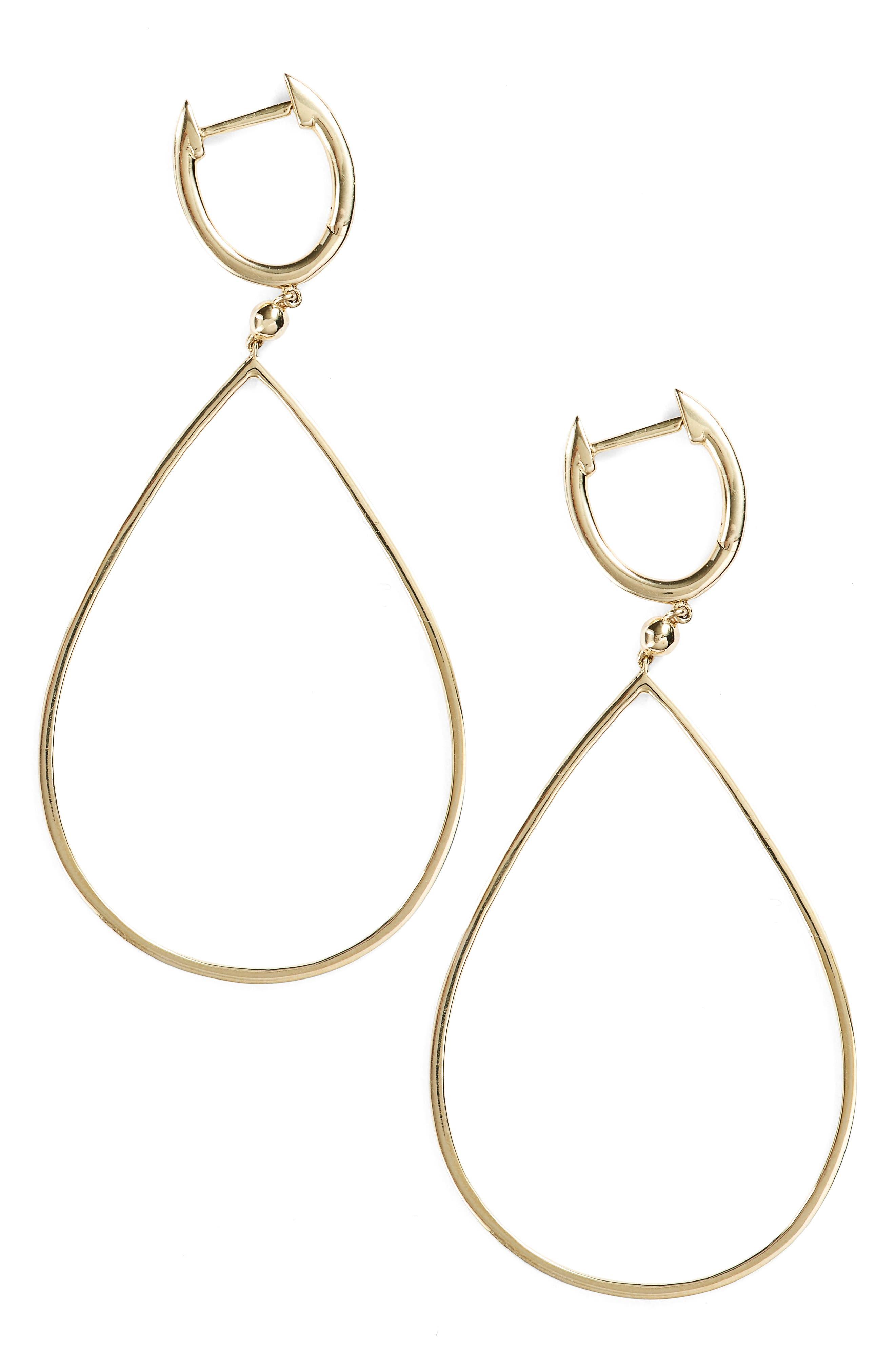 Geo Teardrop Earrings,                         Main,                         color, 710