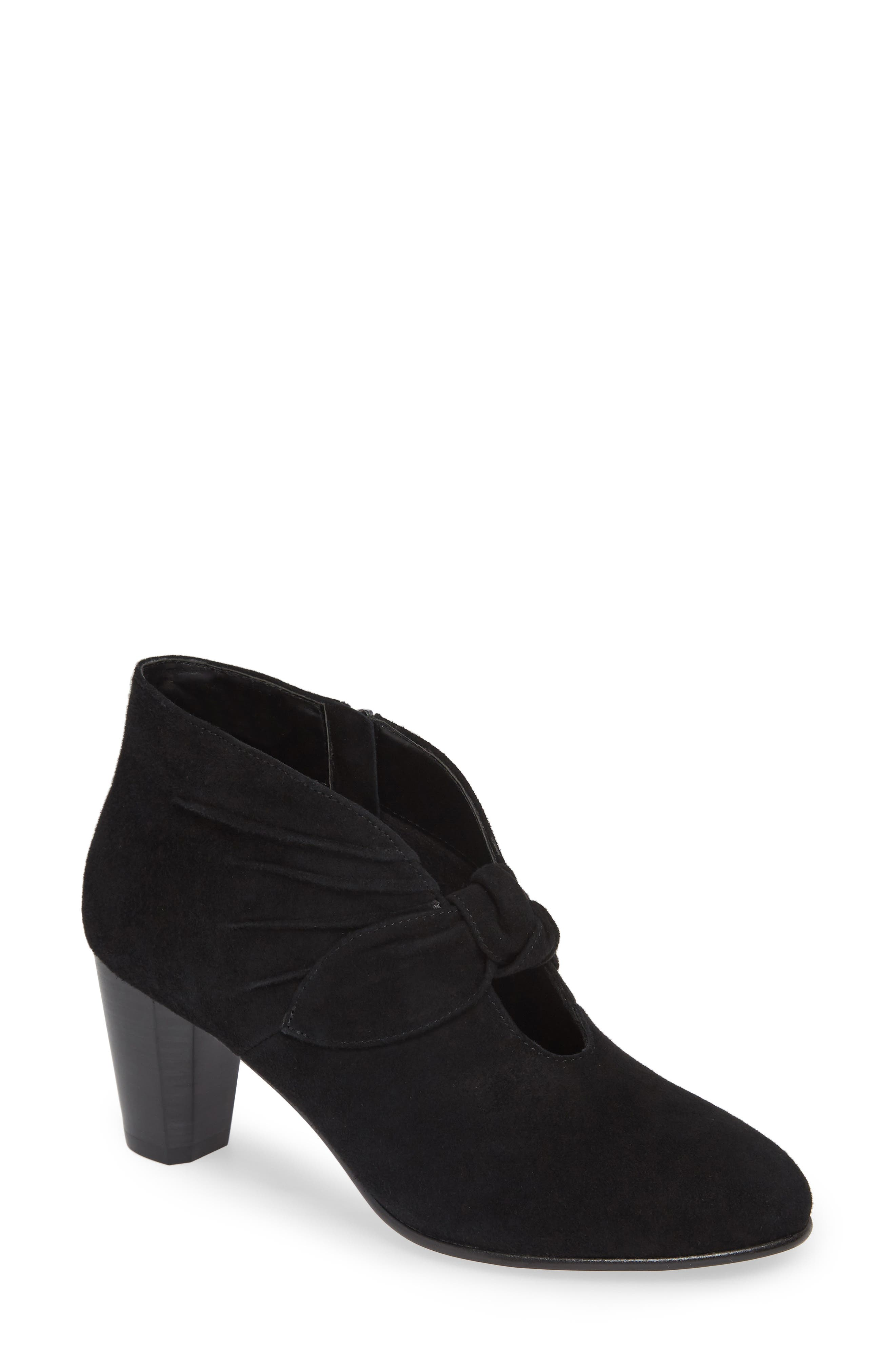 David Tate Gwen Knotted Pump, Black