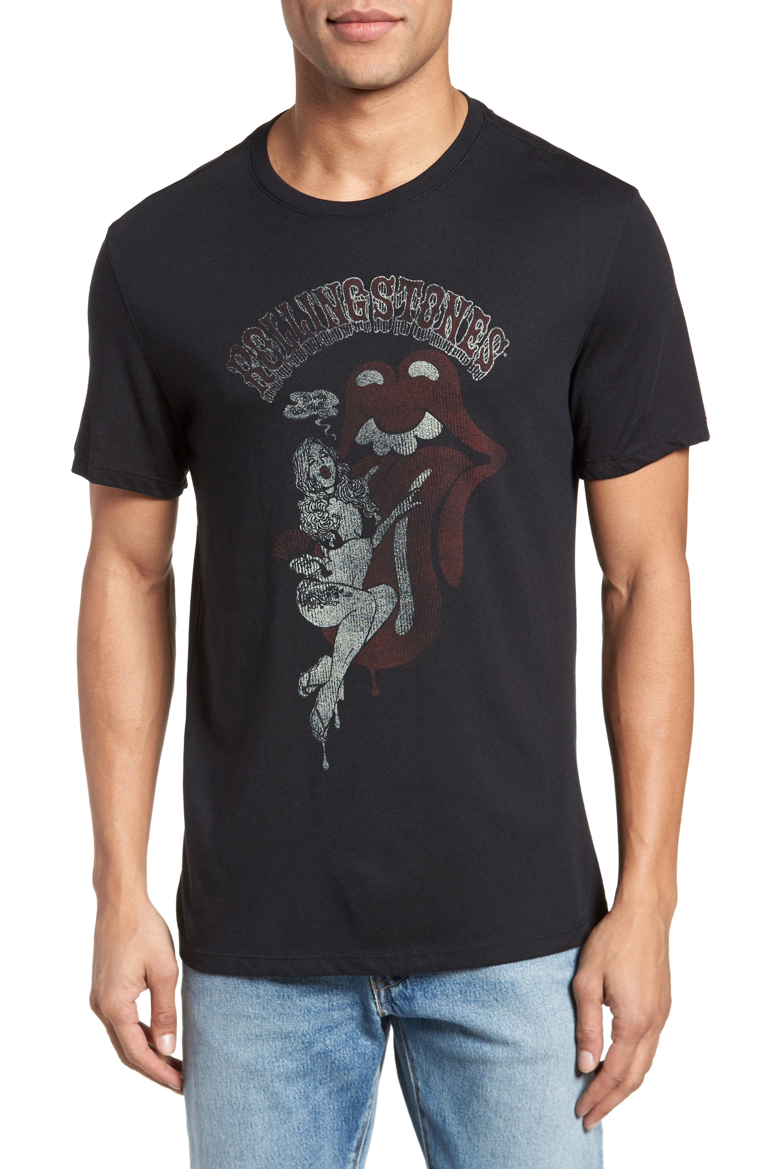 Rolling Stones Graphic T-Shirt,                         Main,                         color, 001