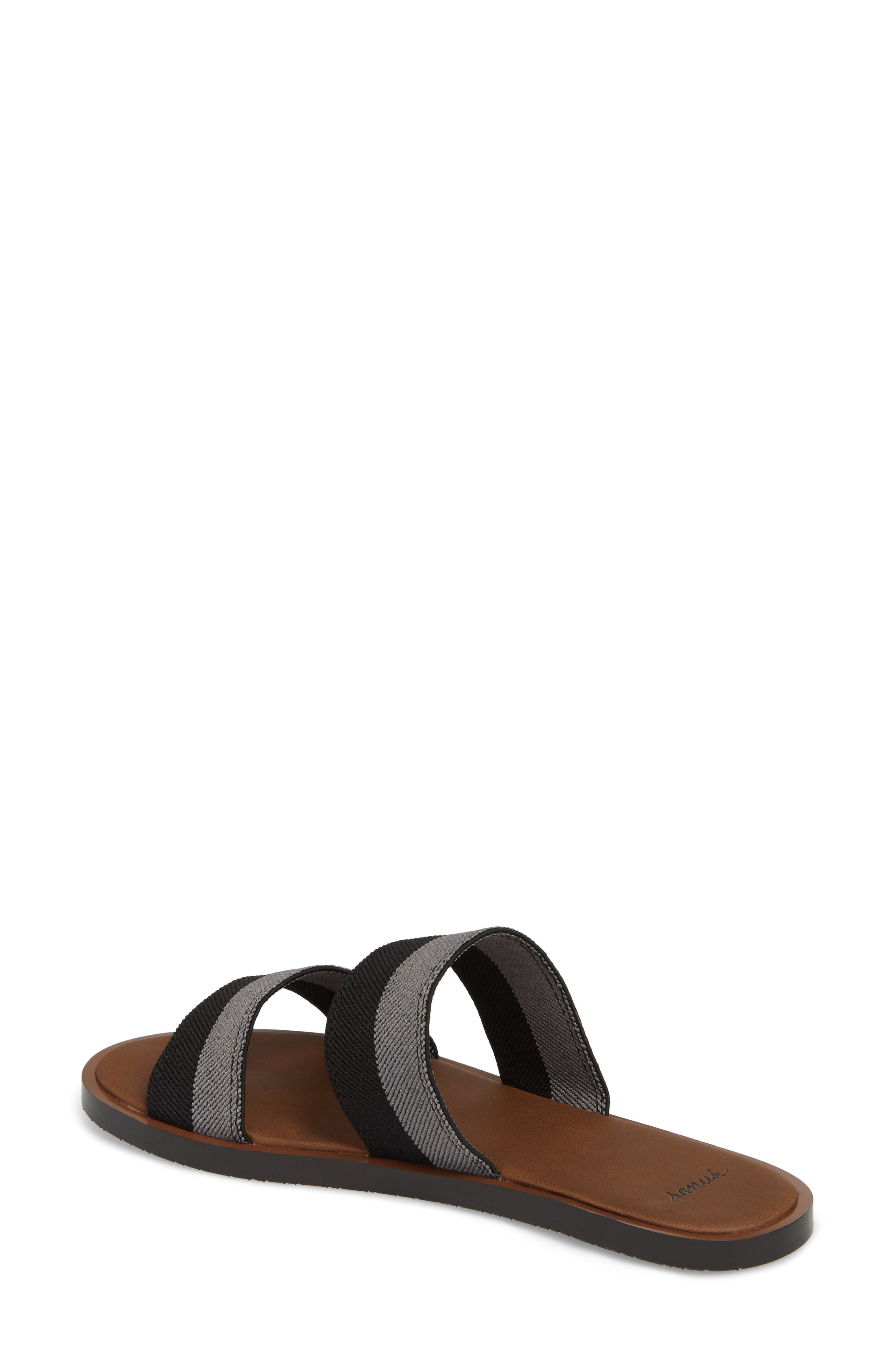 Yoga Gora Gora Slide Sandal,                             Alternate thumbnail 2, color,                             BLACK/ CHARCOAL