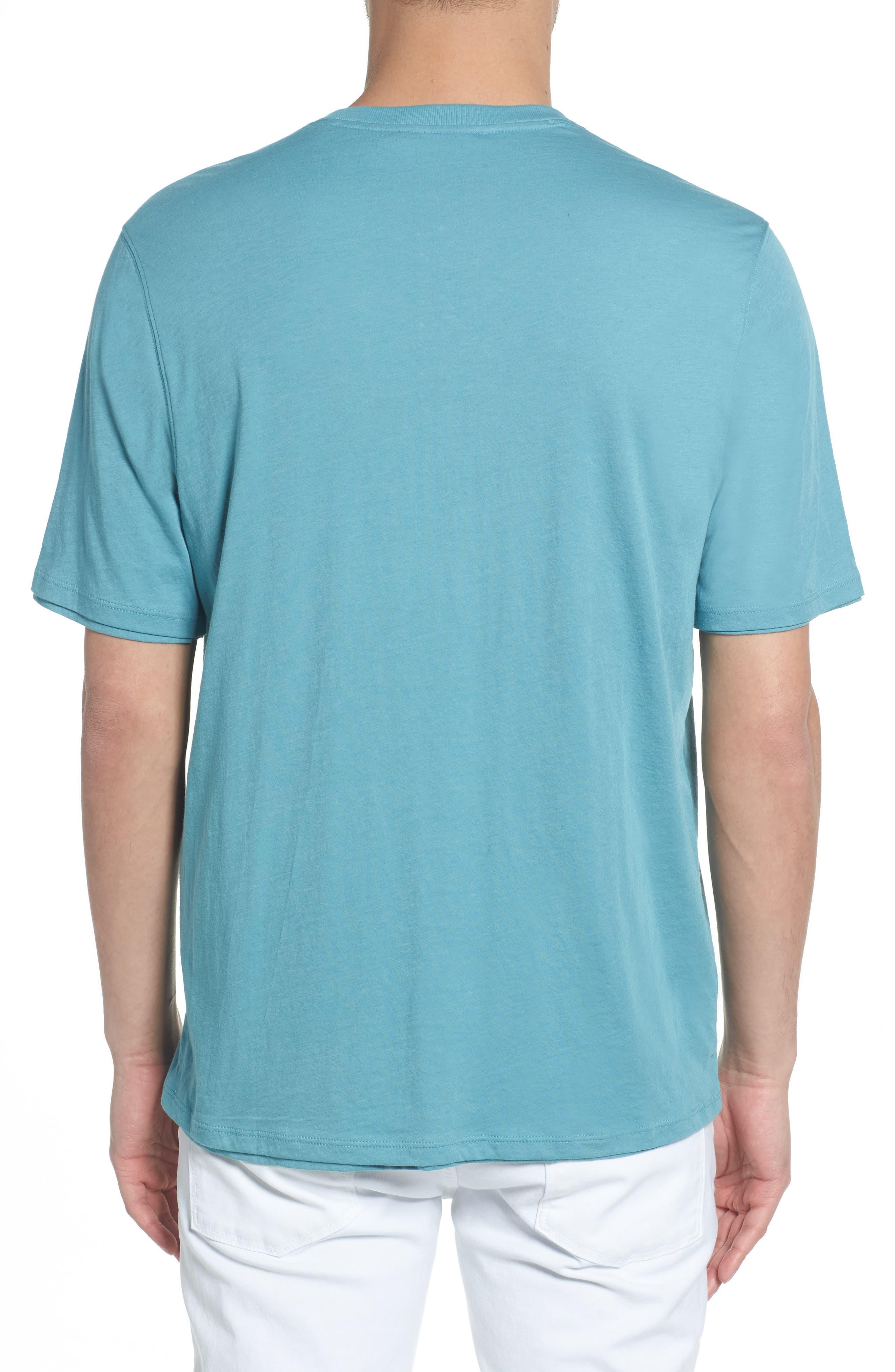 Layered Henley T-Shirt,                             Alternate thumbnail 2, color,                             HARBOR