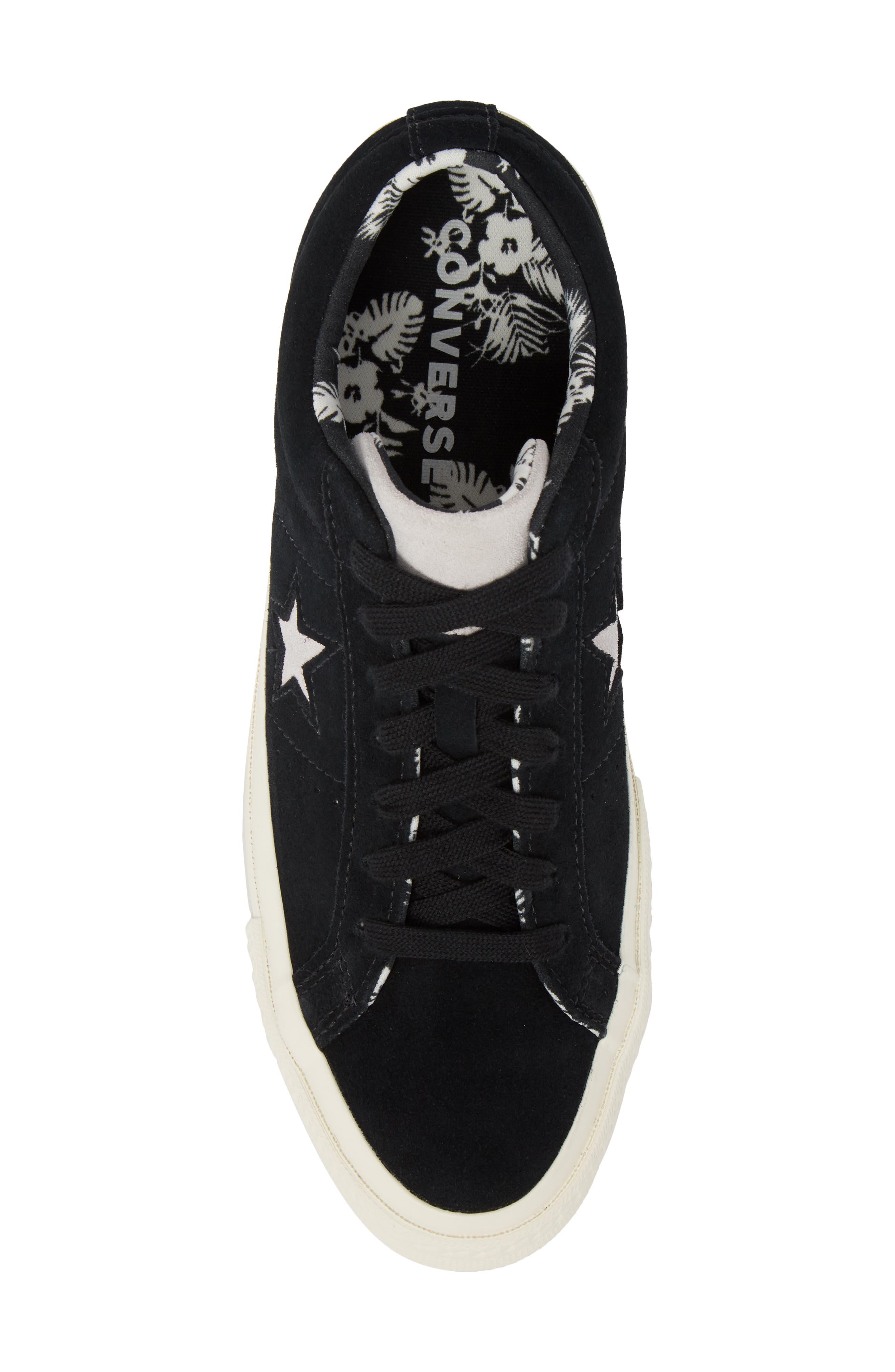 One-Star Tropical Sneaker,                             Alternate thumbnail 5, color,                             001