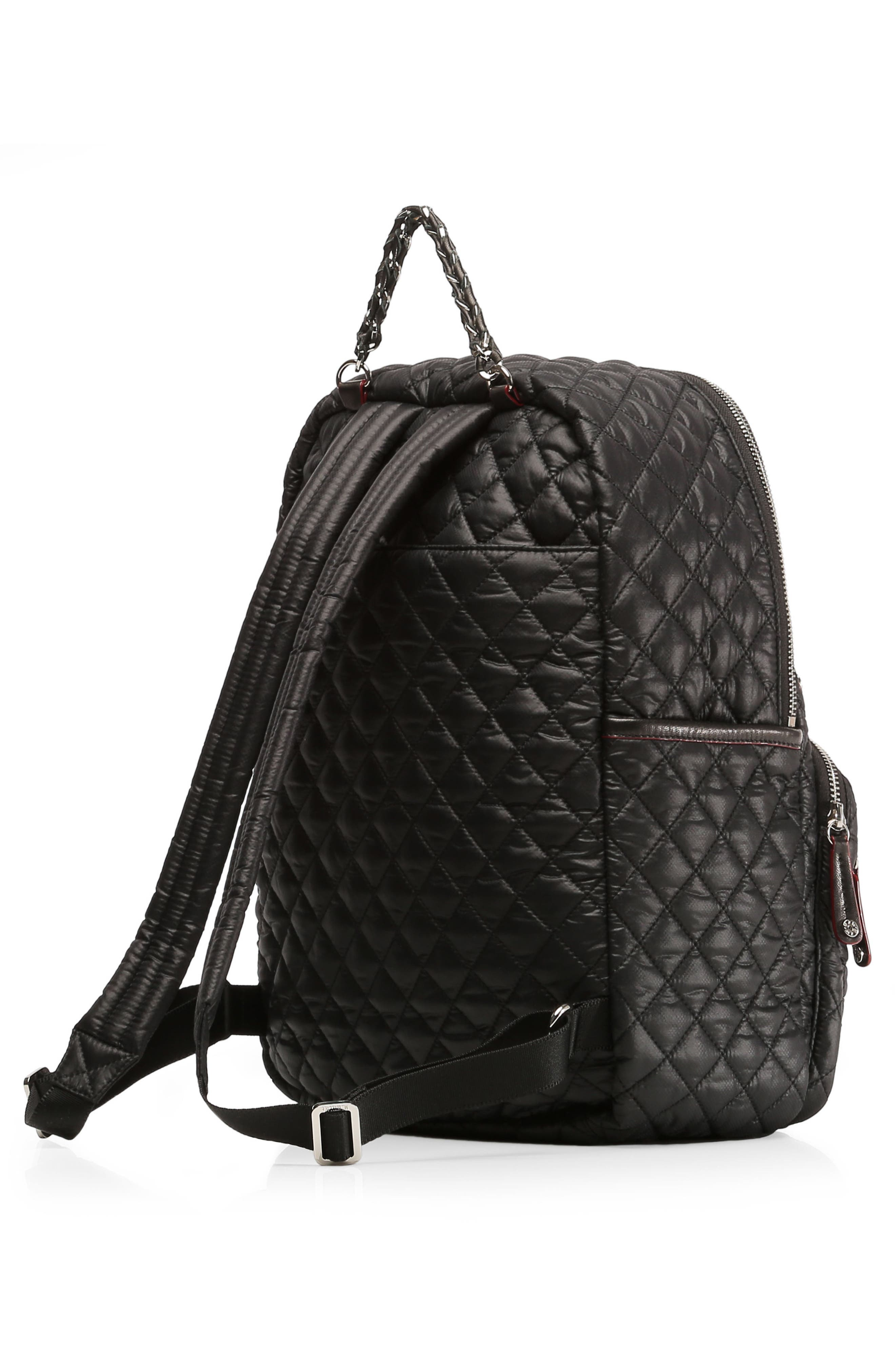 Crosby Backpack,                             Alternate thumbnail 5, color,                             BLACK